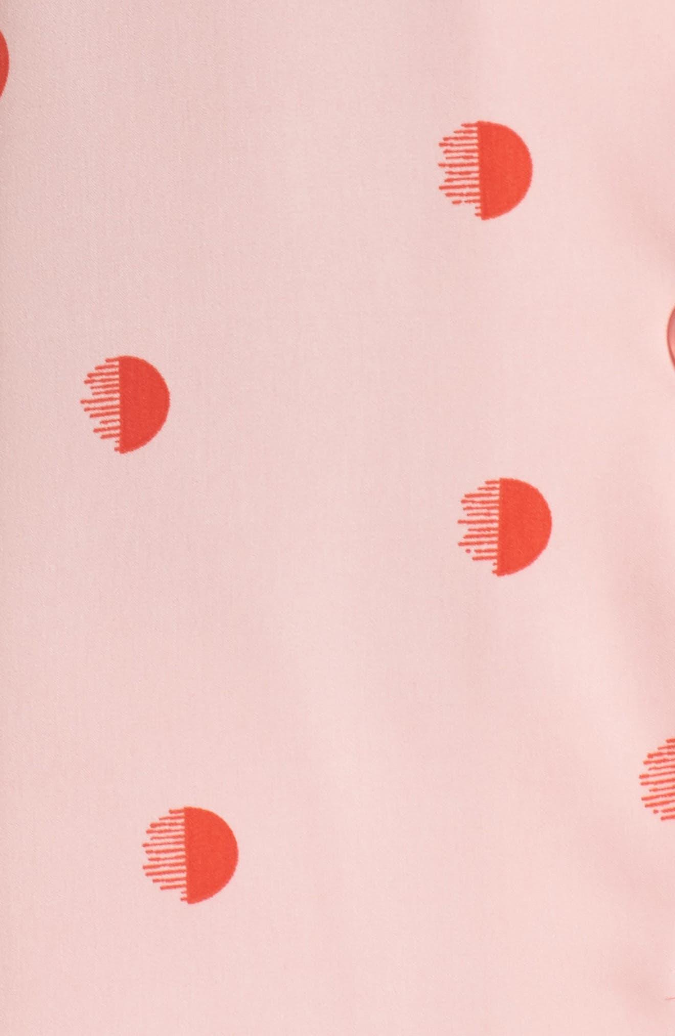 Alternate Image 5  - DKNY Washed Satin Pajamas