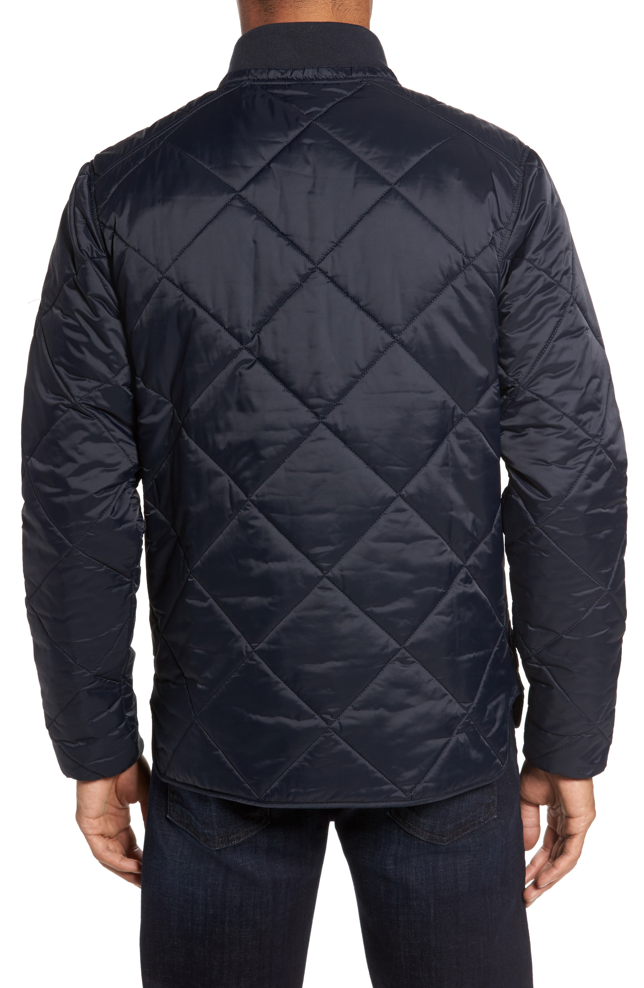 International Gabion Quilted Jacket,                             Alternate thumbnail 2, color,                             Navy