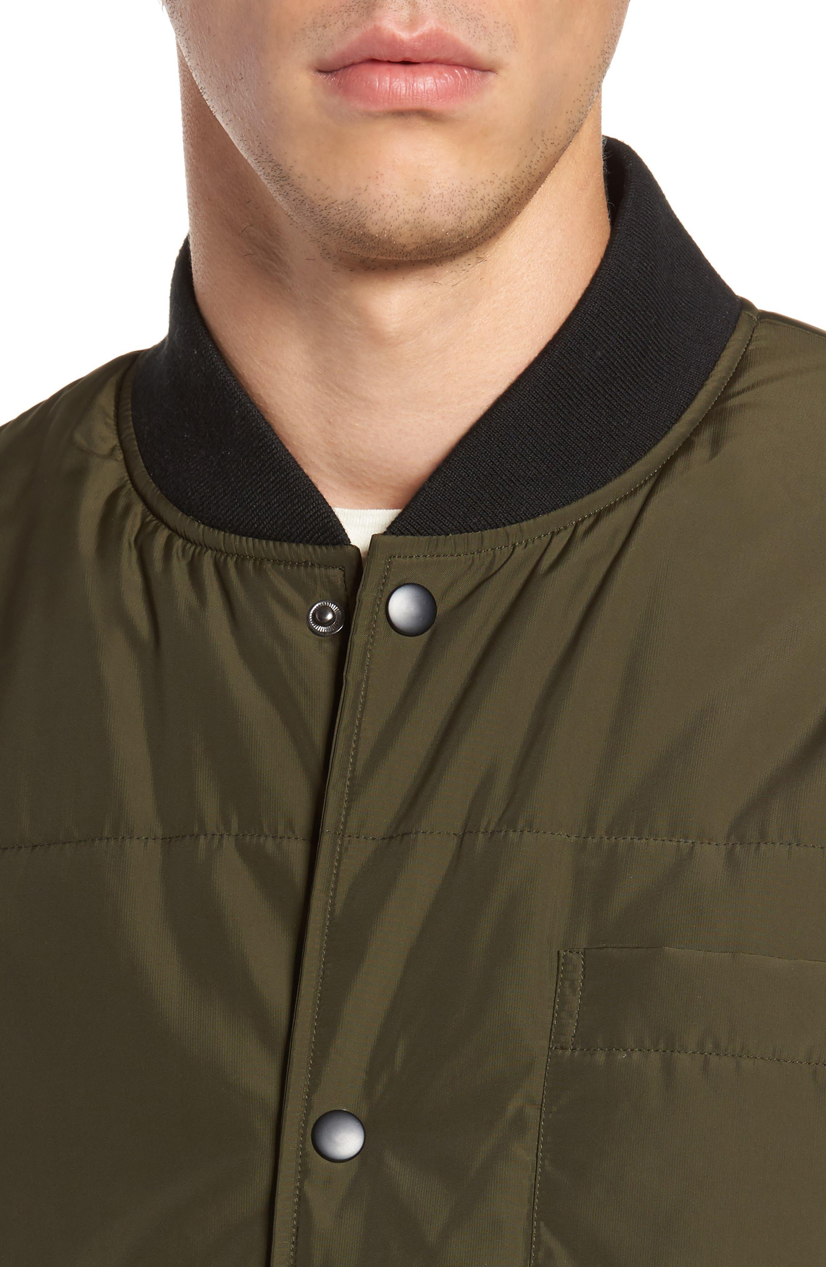 Alternate Image 4  - Lira Clothing Bundy Bomber Jacket