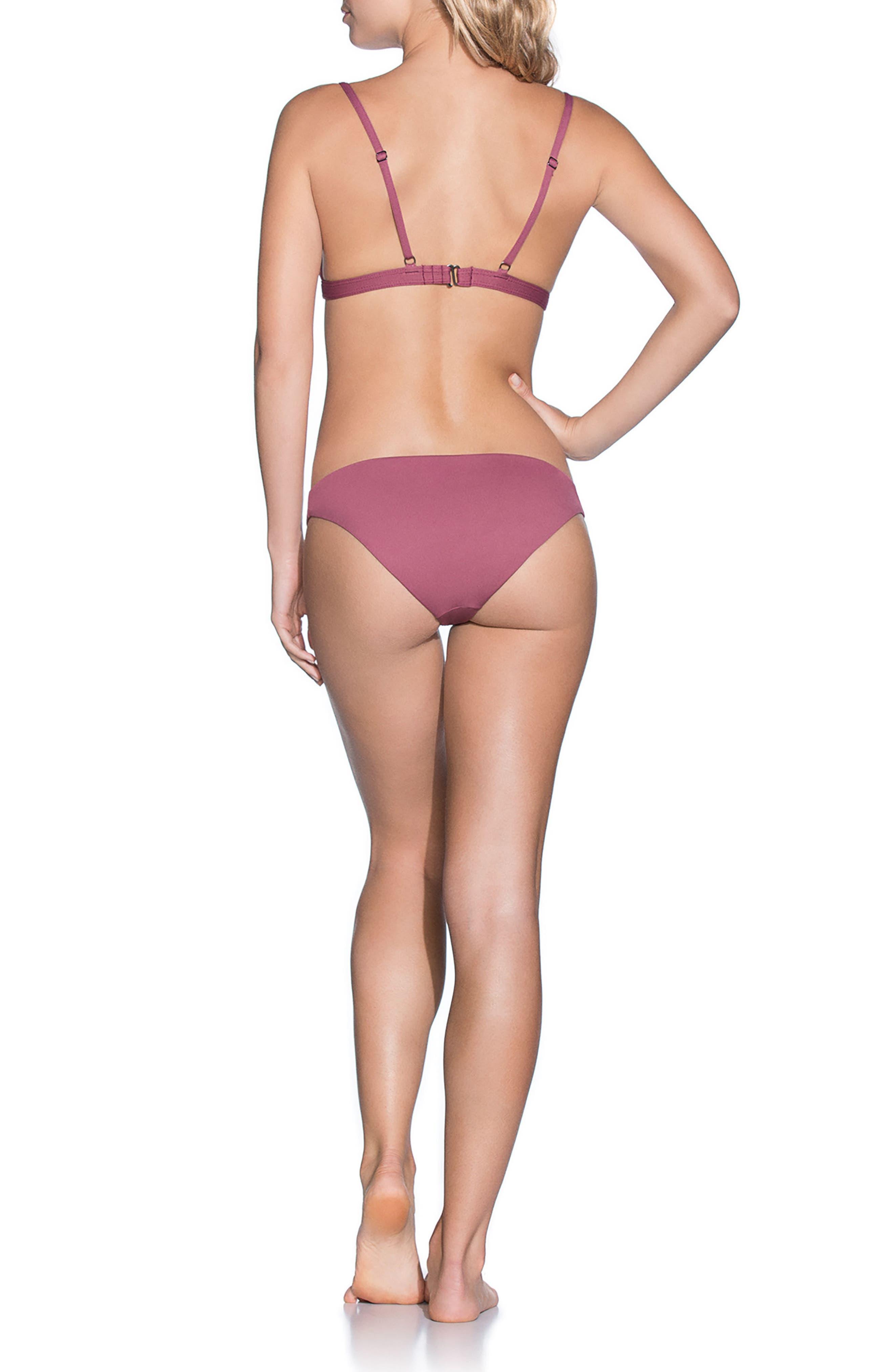 Alternate Image 4  - Maaji Juneberry Delightful Reversible Bikini Top