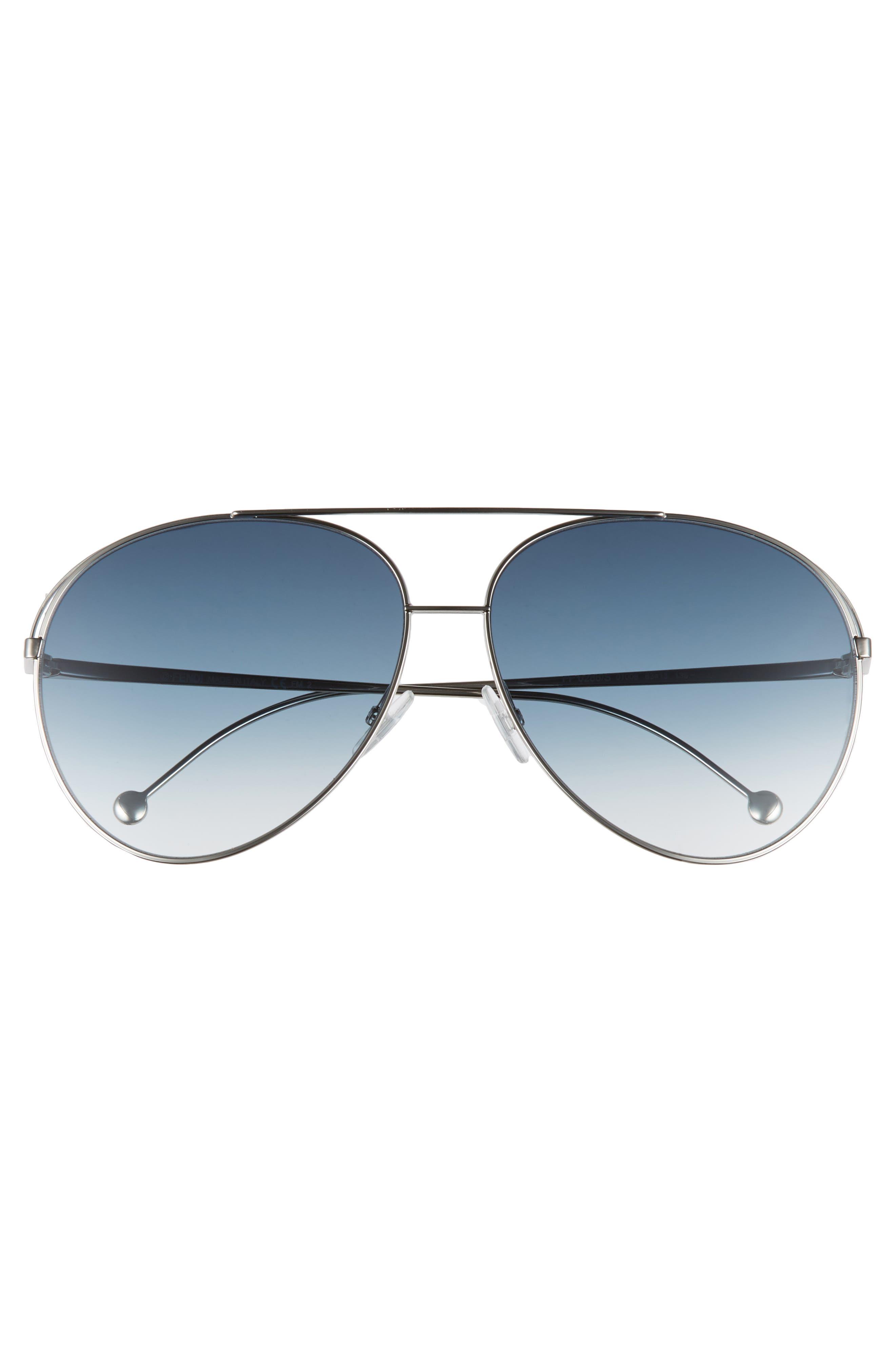 Alternate Image 3  - Fendi 52mm Aviator Sunglasses