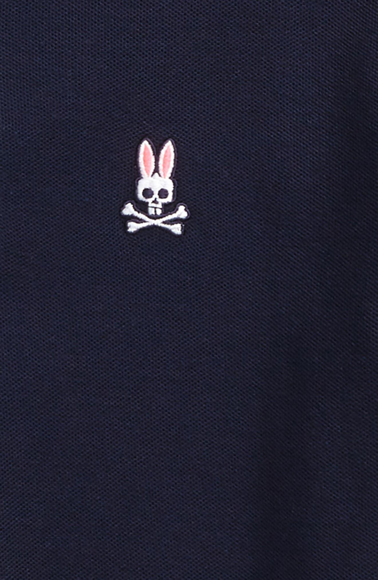 Alternate Image 2  - Psycho Bunny Neon Anniversary Polo (Little Boys & Big Boys)