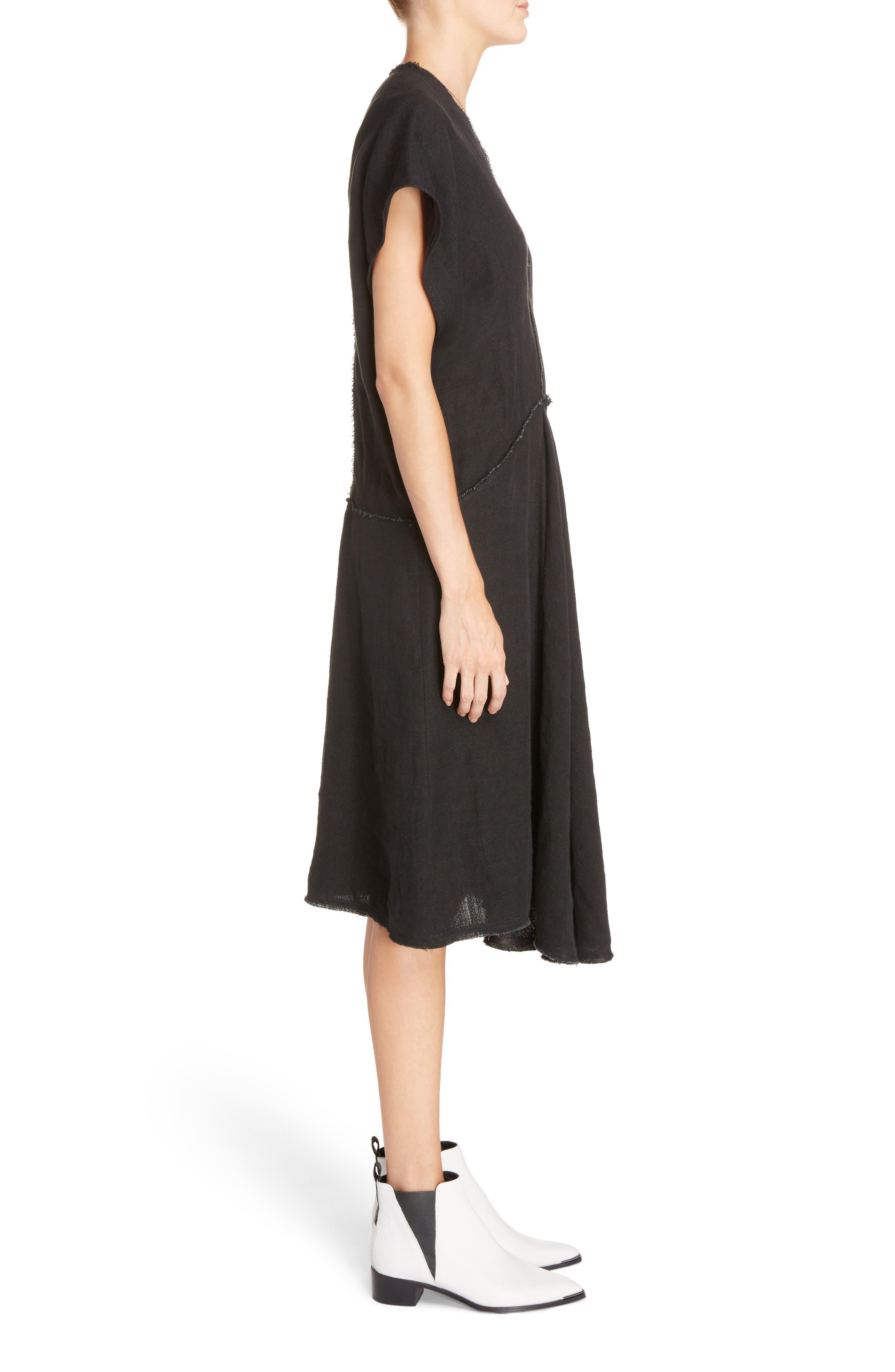 Jessa Shirtdress,                             Alternate thumbnail 4, color,                             Black