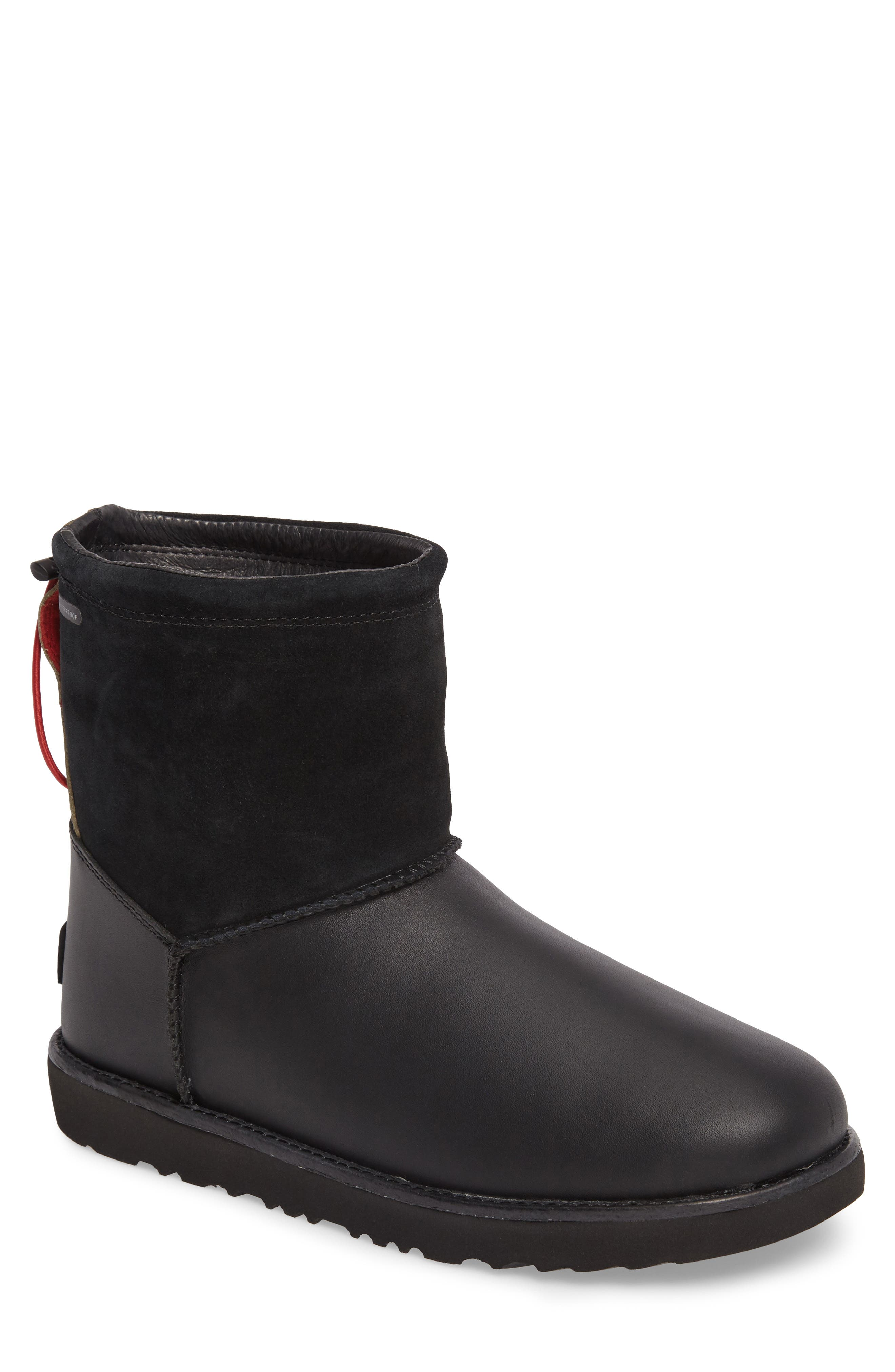 Classic Waterproof Boot,                             Main thumbnail 1, color,                             Black