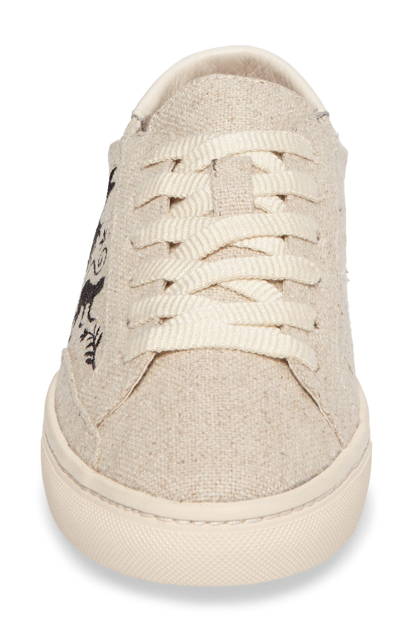 Otomi Sneaker,                             Alternate thumbnail 4, color,                             Sand Black