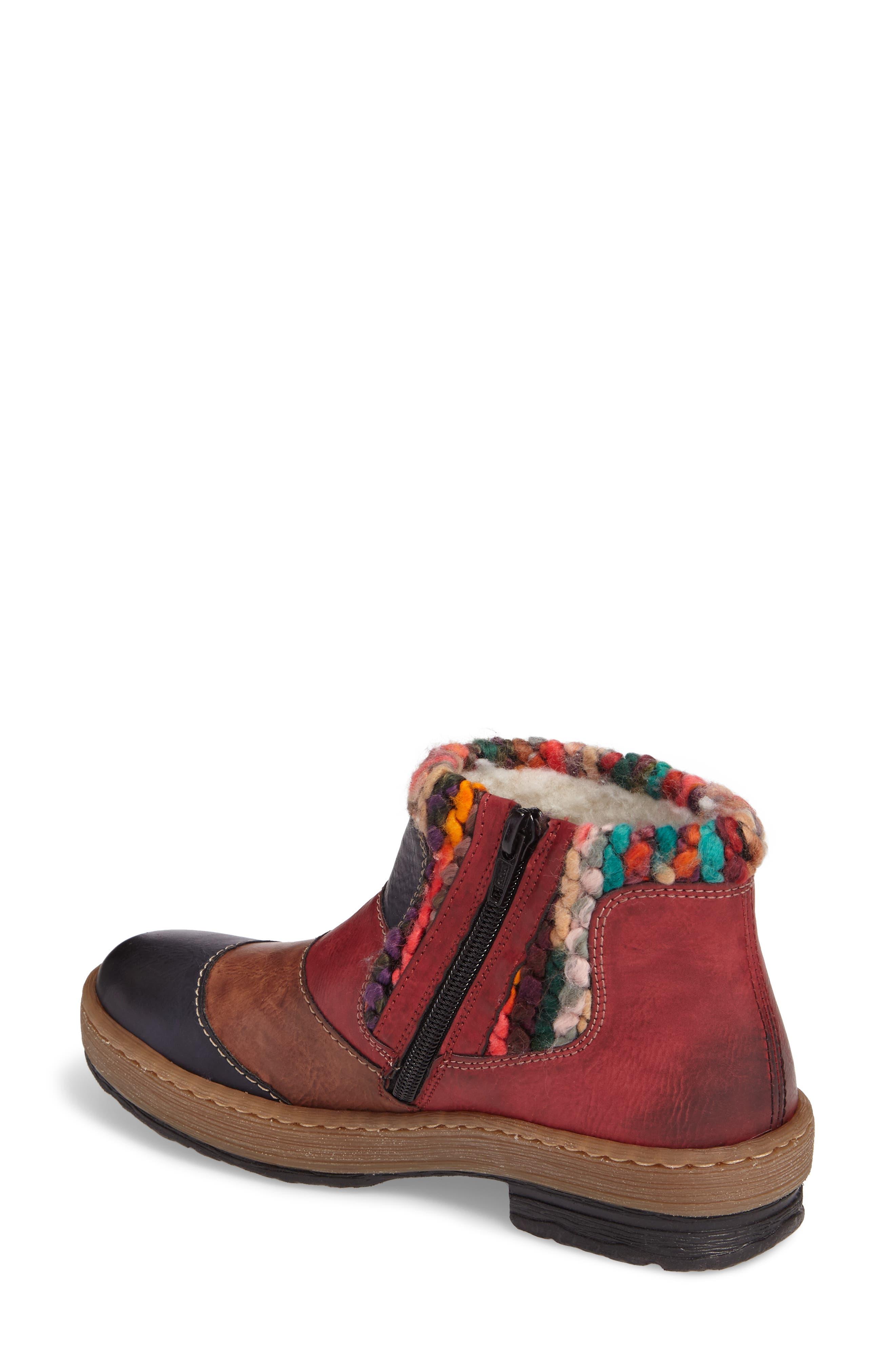 Felicitas 82 Boot,                             Alternate thumbnail 3, color,                             Ocean Multi Faux Leather