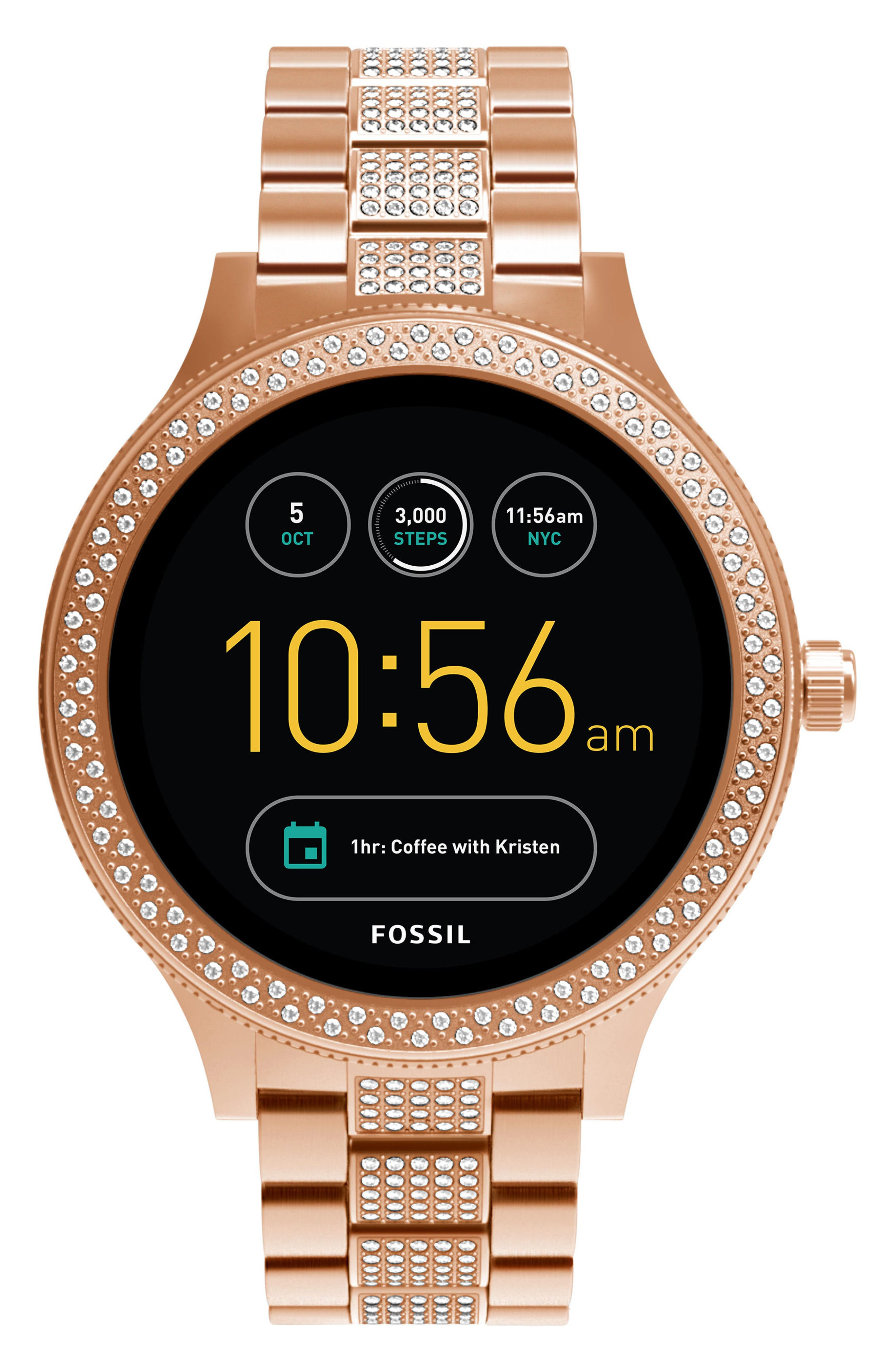 Fossil Q Venture Gen 3 Bracelet Smart Watch, 42mm