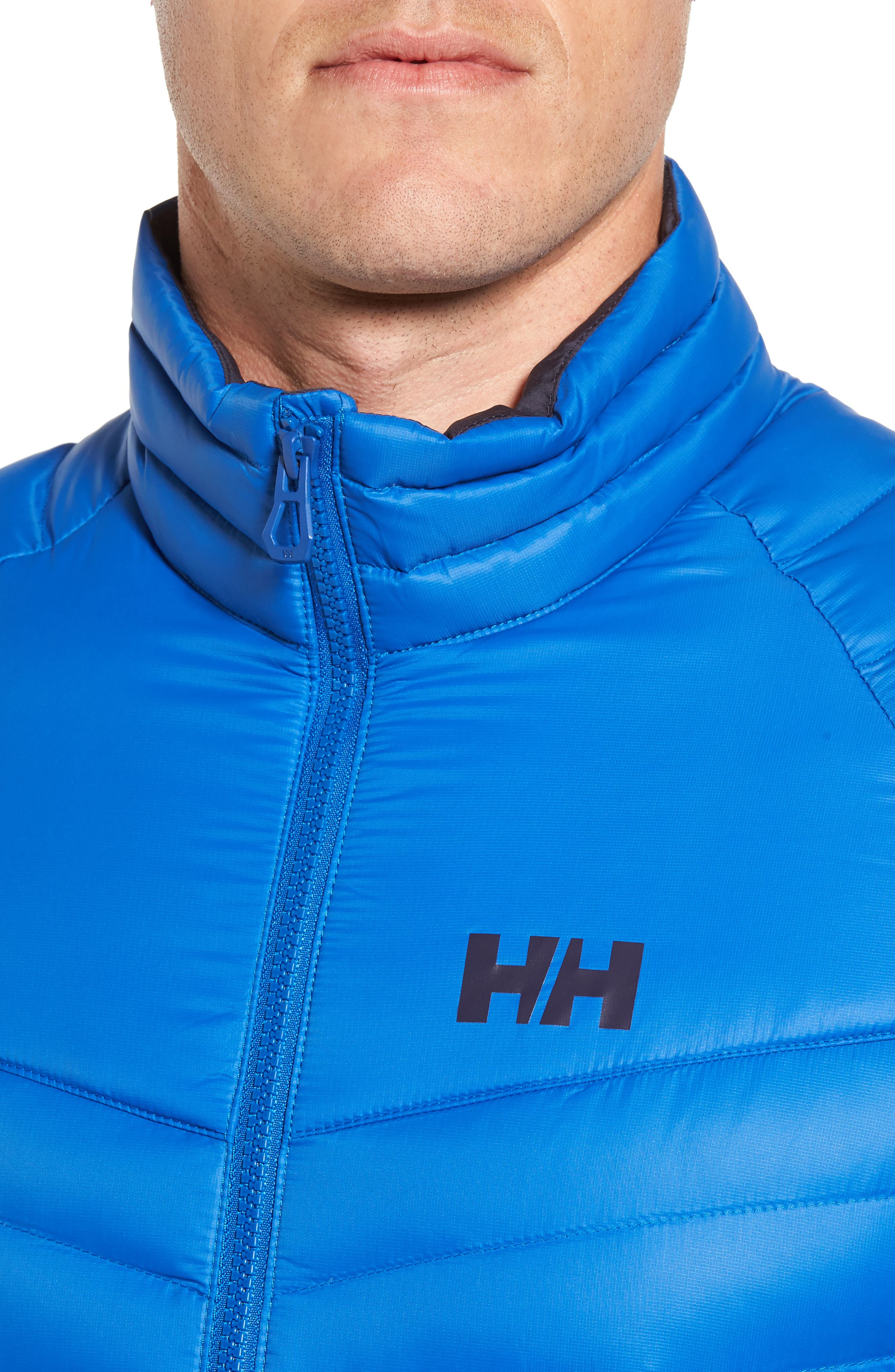Verglas Insulator Hybrid Jacket,                             Alternate thumbnail 4, color,                             563 Olympian Blue