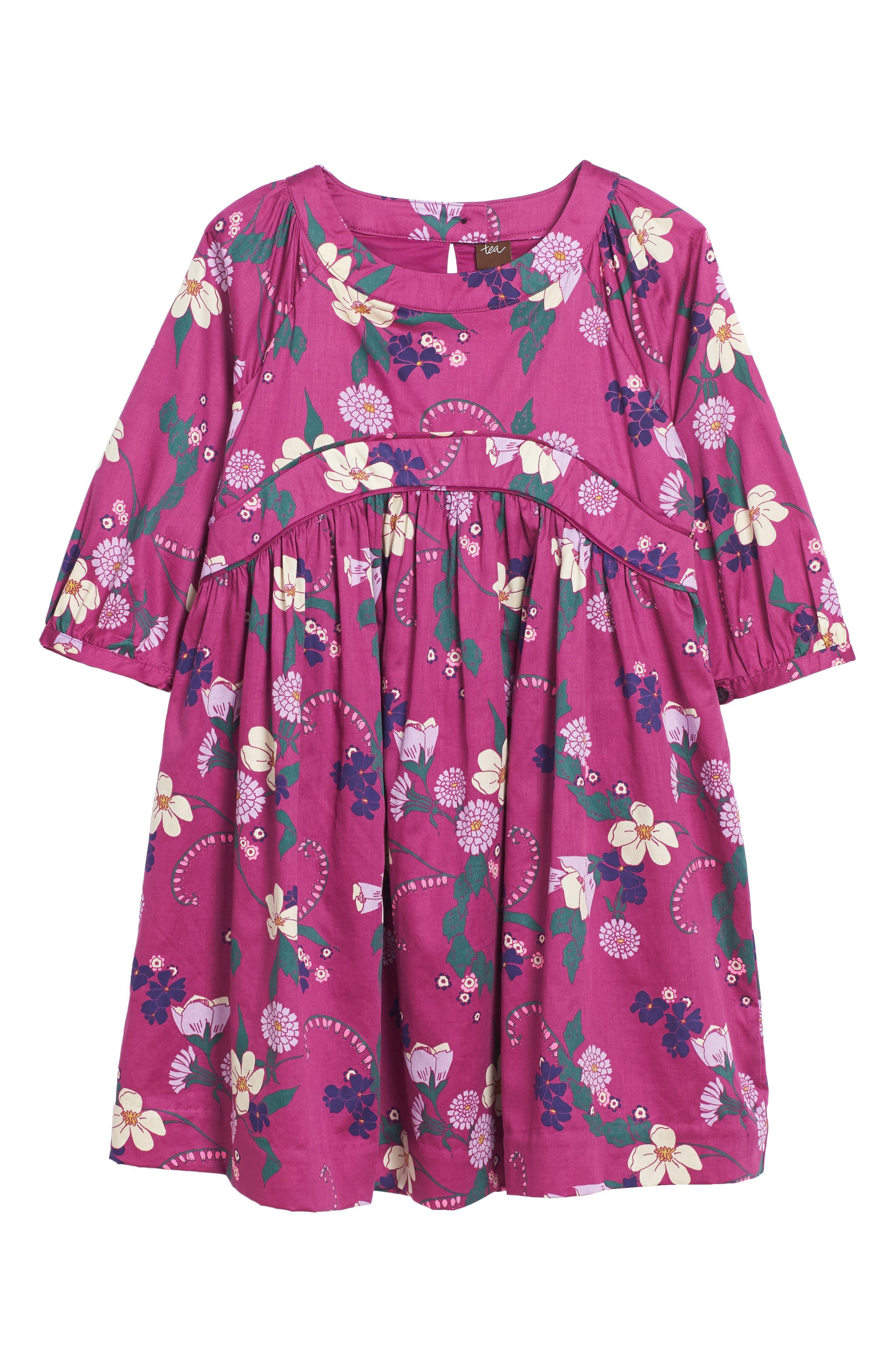 Tea Collection Lauriston Empire Dress (Toddler Girls, Little Girls & Big Girls)