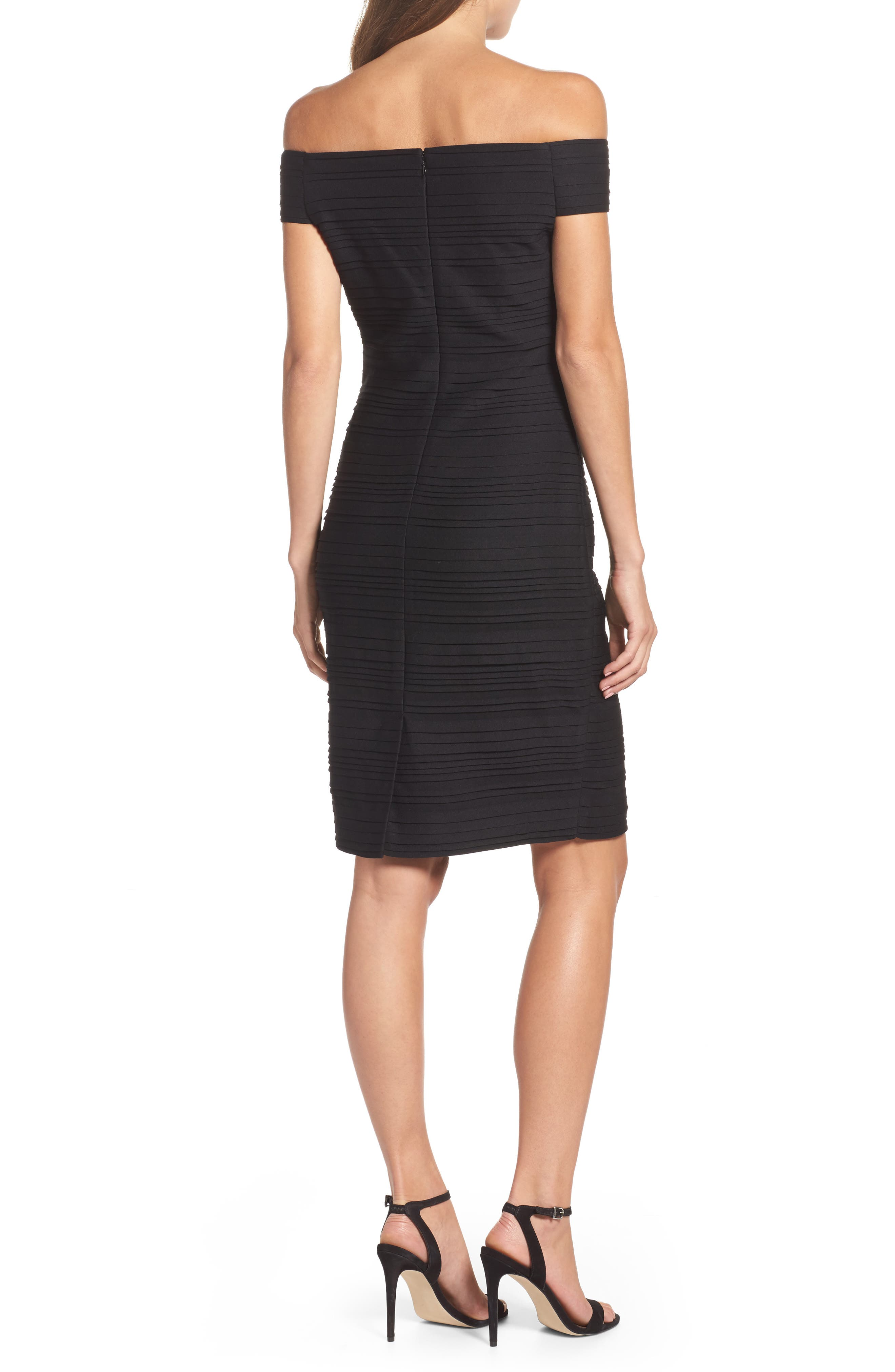 Alternate Image 2  - Vince Camuto Off the Shoulder Sheath Dress