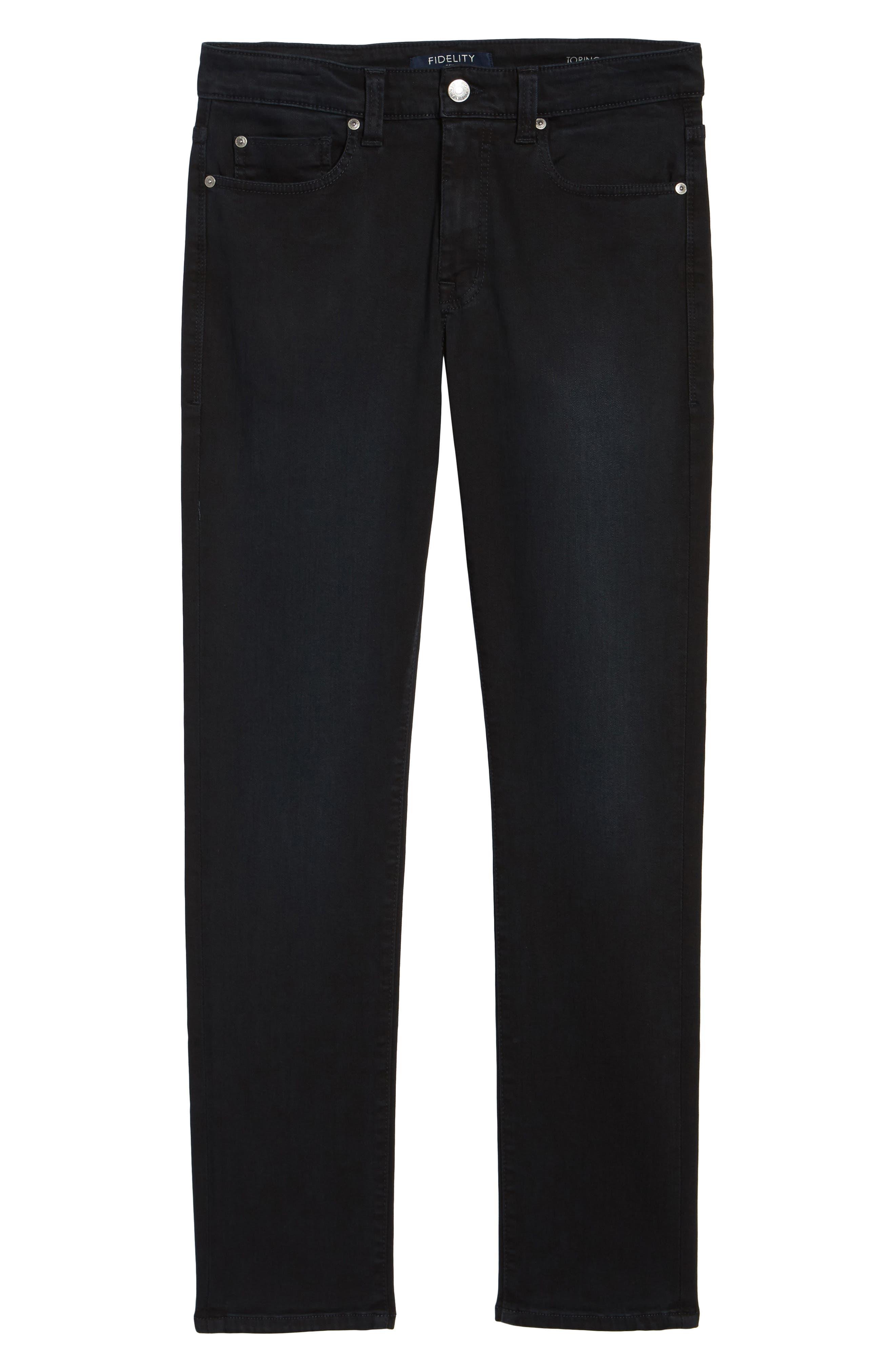 Torino Slim Fit Jeans,                             Alternate thumbnail 6, color,                             Saffire Blue