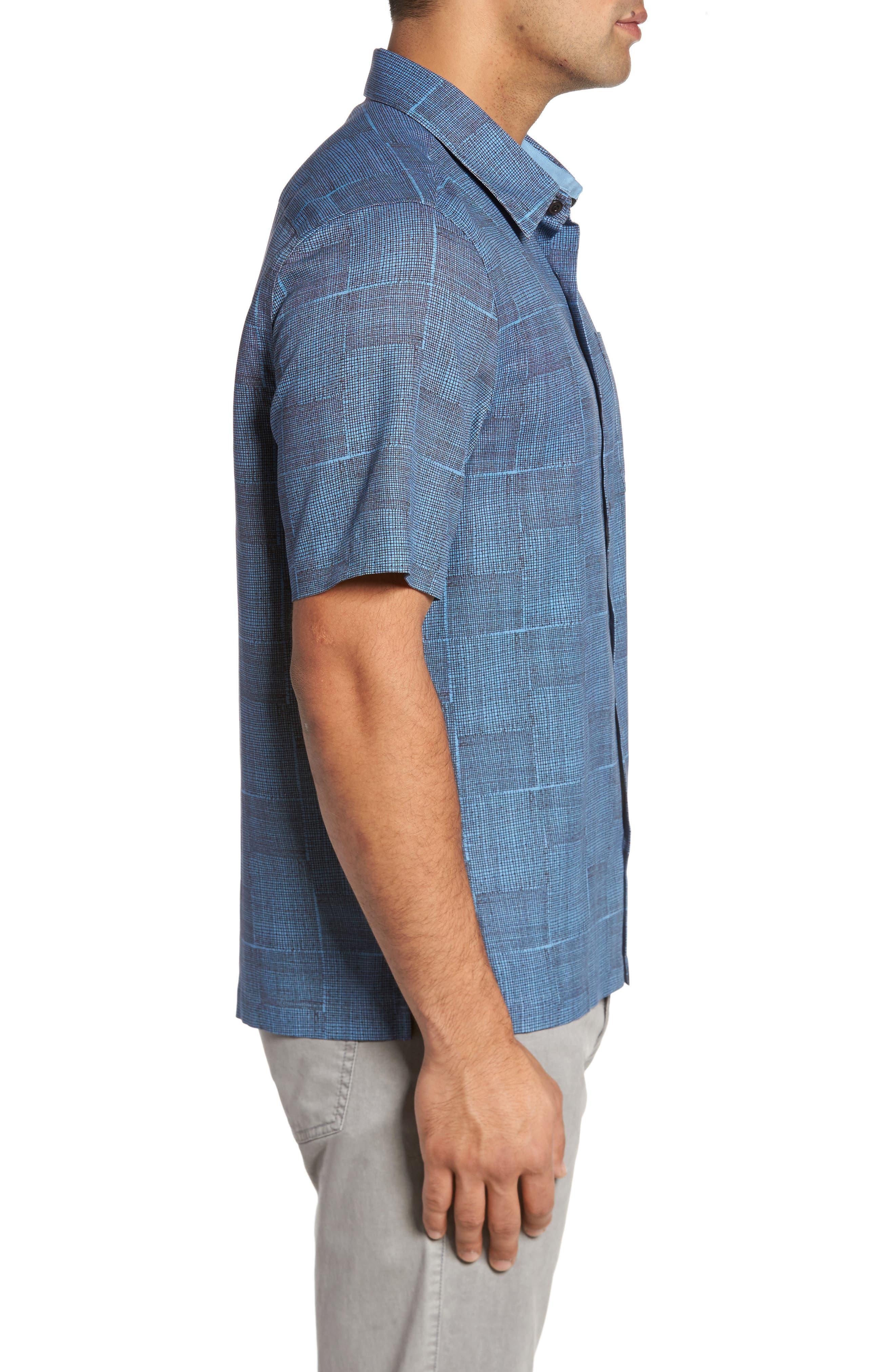 Alternate Image 3  - Nat Nast Alta Classic Fit Silk Blend Camp Shirt