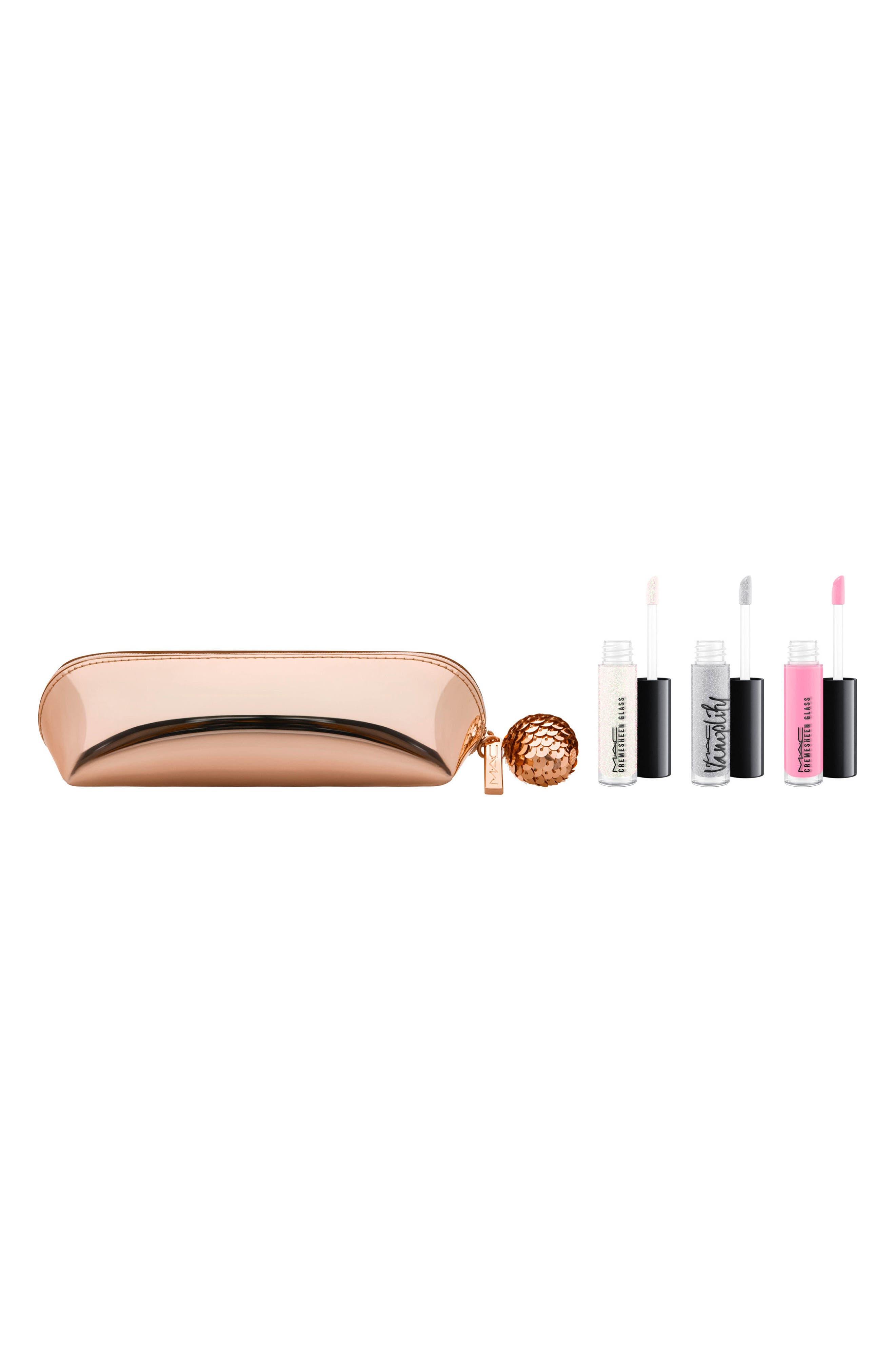 Alternate Image 1 Selected - MAC Snow Ball Pink Mini Lip Gloss Kit ($68 Value)