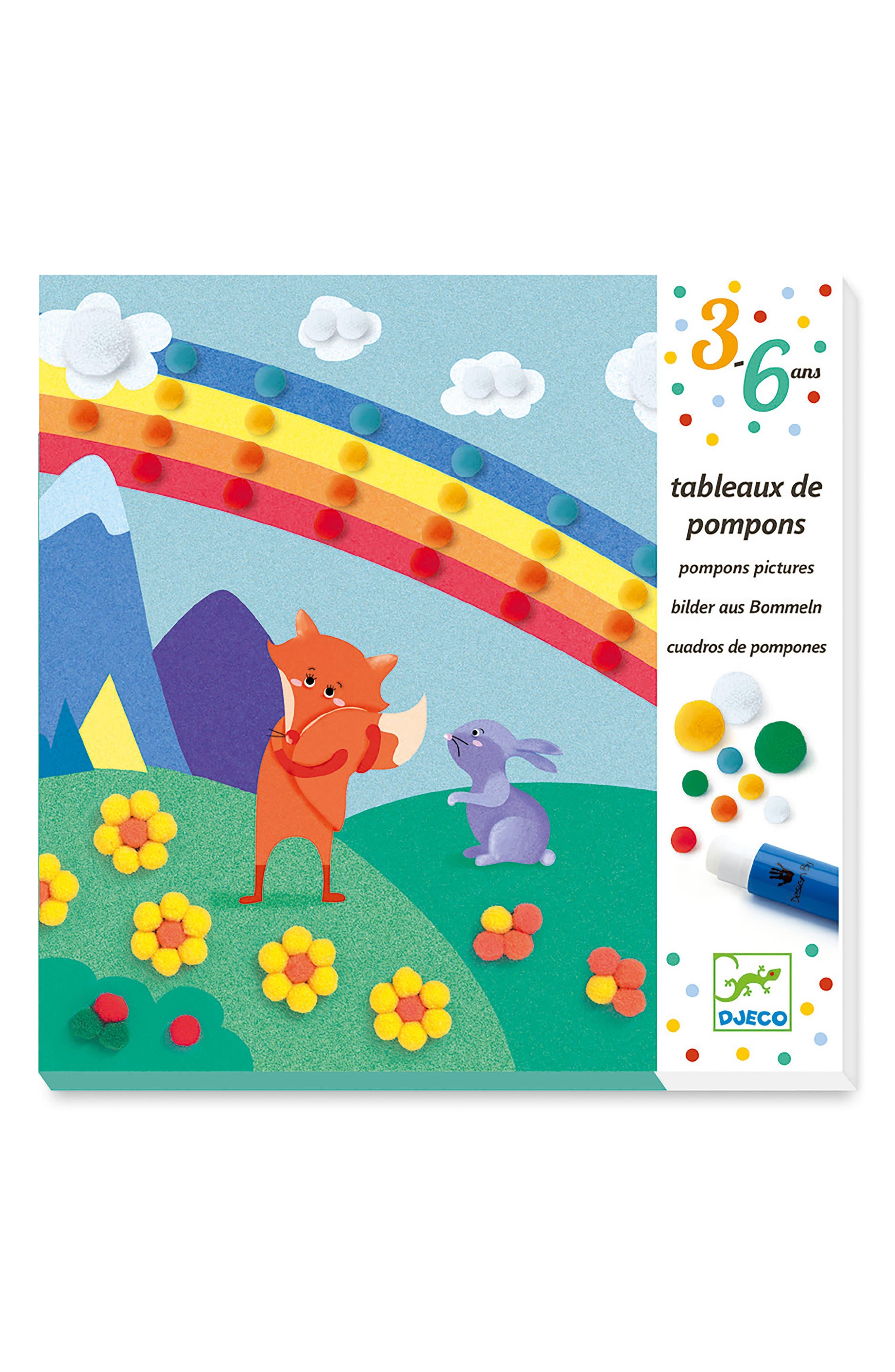 Main Image - Djeco Softly Softly Pompom Boards