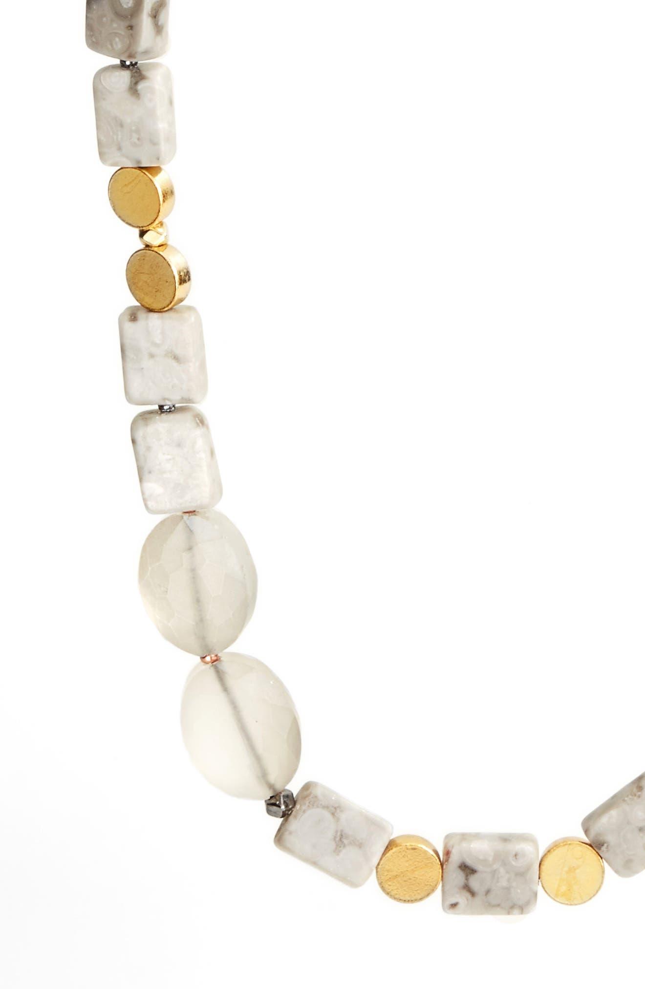 Alternate Image 2  - Nakamol Design Long Agate Necklace