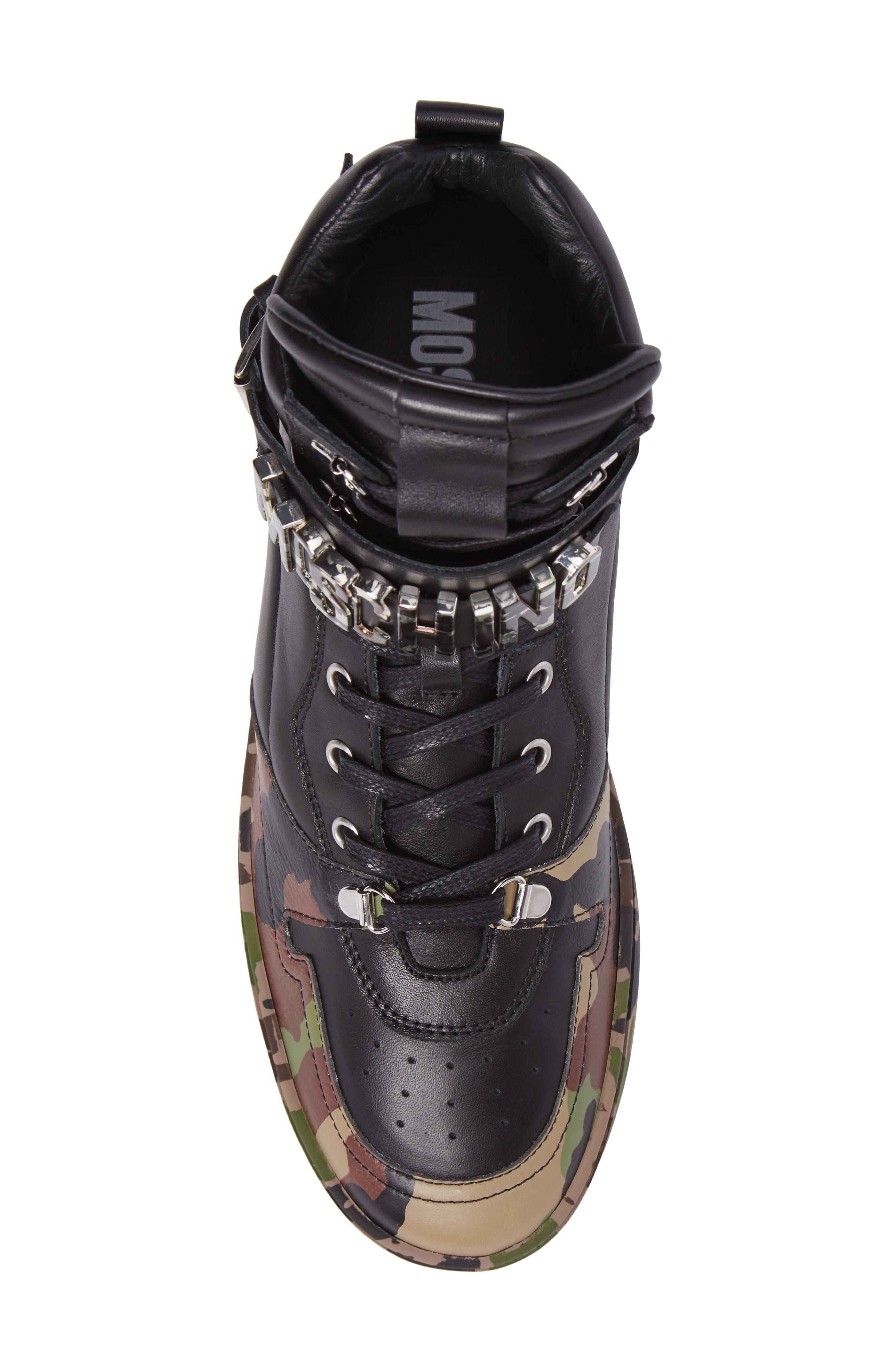 Alternate Image 5  - Moschino High Top Sneaker (Men)