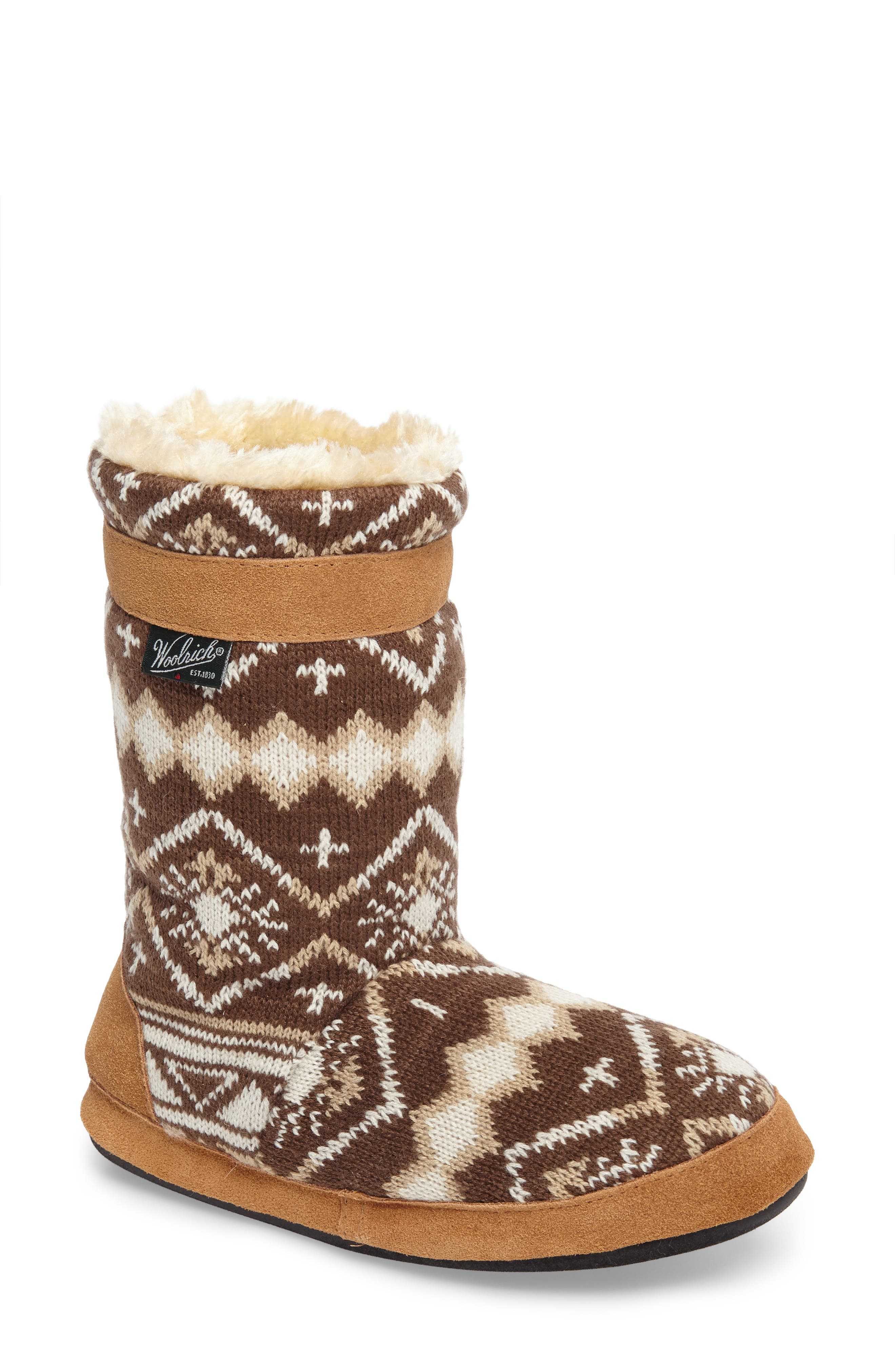 Woolrich Whitecap Knit Slipper Bootie (Women)