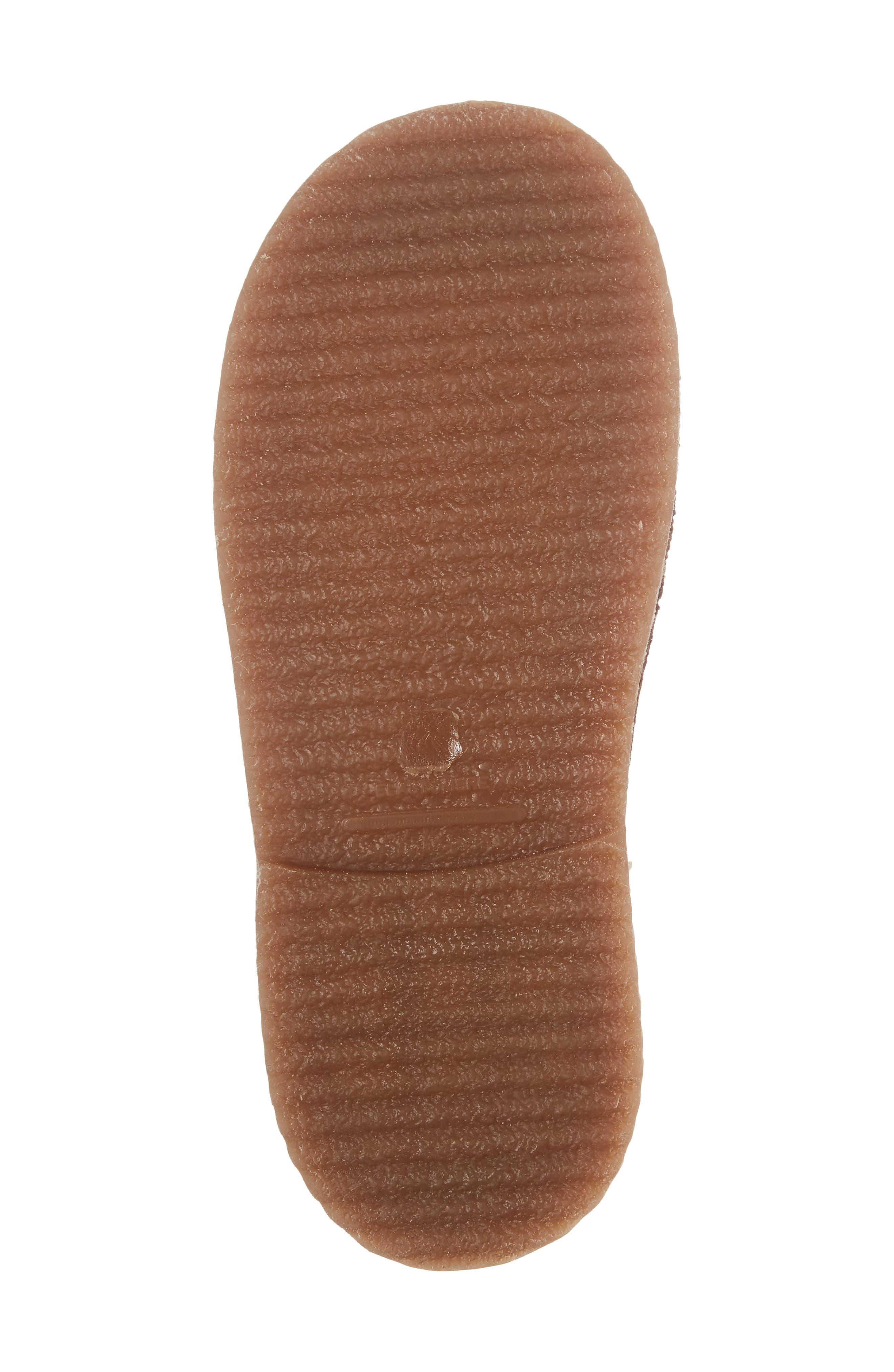 Faux Fur Desert Boot,                             Alternate thumbnail 6, color,                             Brown