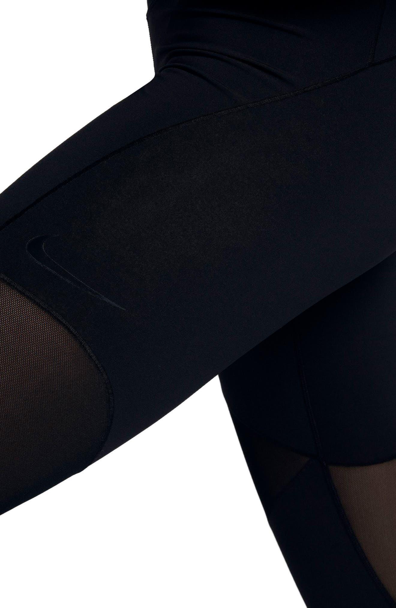 Alternate Image 4  - Nike Fly Lux Crop Leggings