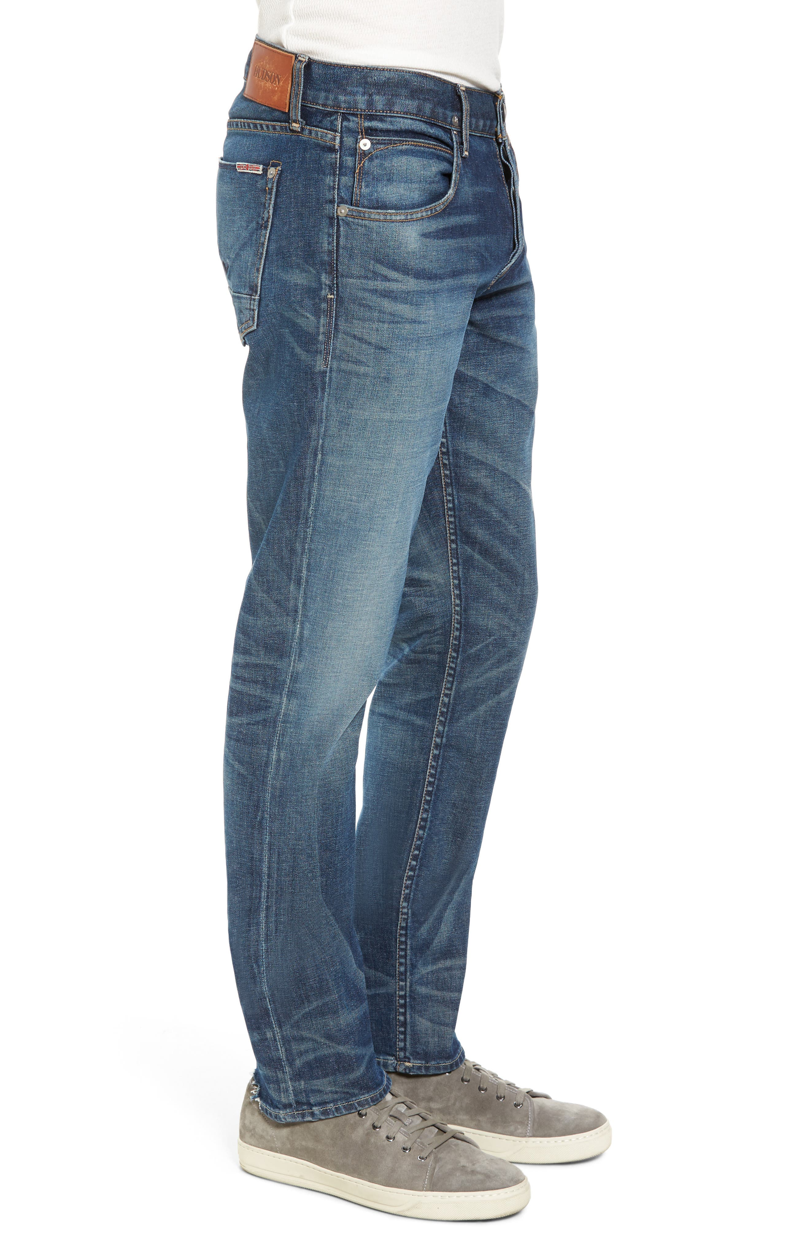 Alternate Image 3  - Hudson Jeans Blake Slim Fit Jeans (Scribe)