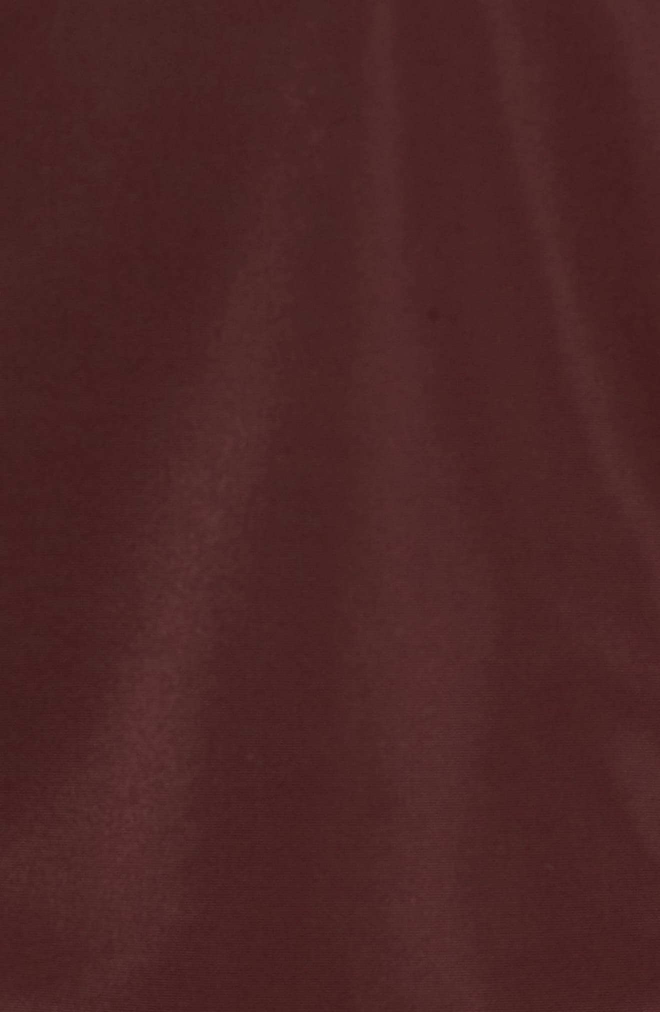 Dougie Waterproof Jacket,                             Alternate thumbnail 5, color,                             Mulberry