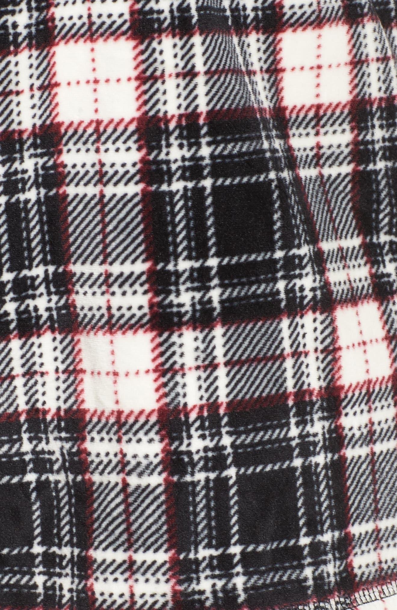 Alternate Image 7  - PJ Salvage Velour Shorts (Plus Size)