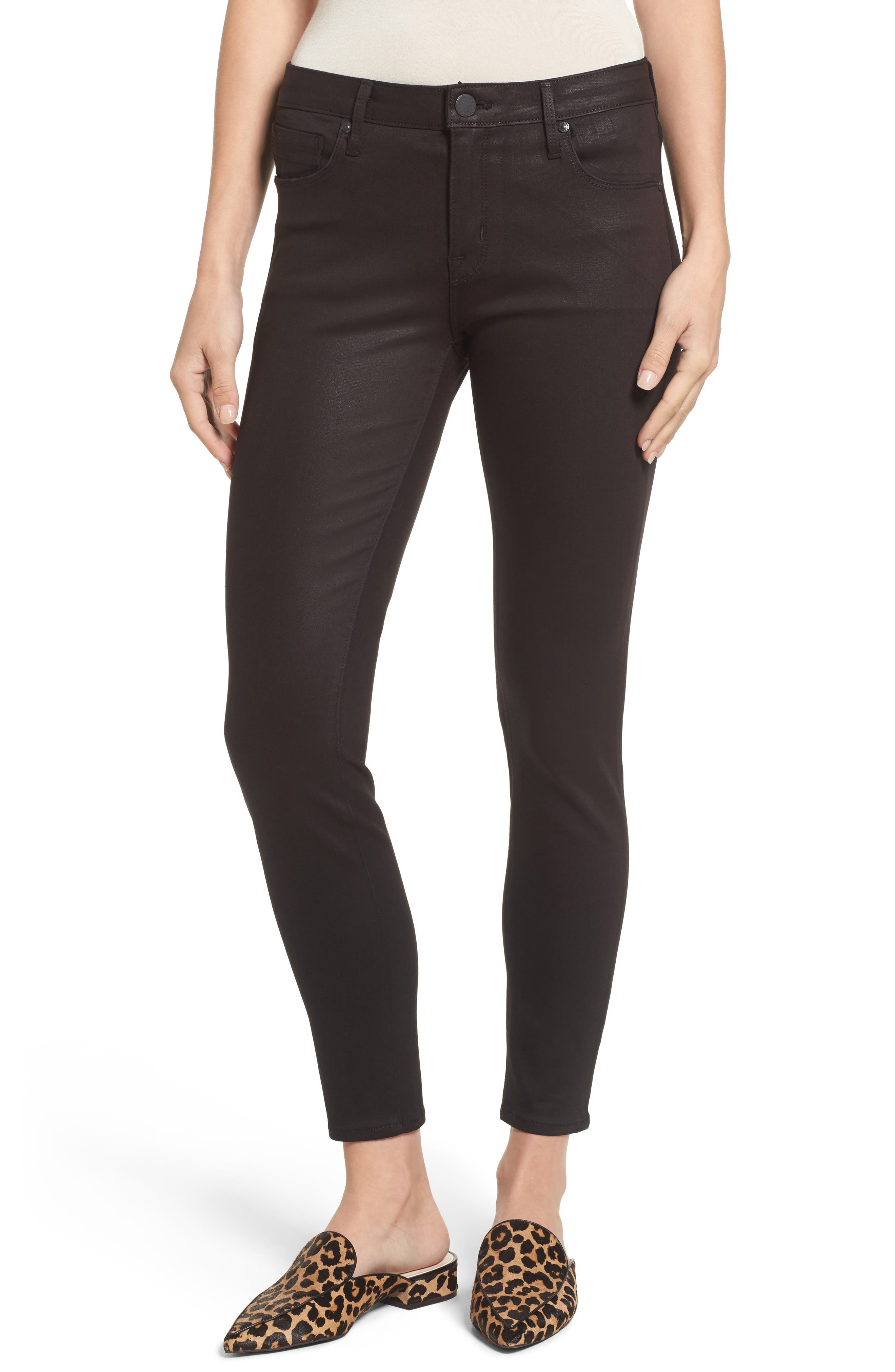 Ava Skinny Jeans,                         Main,                         color, Dipped In Wax