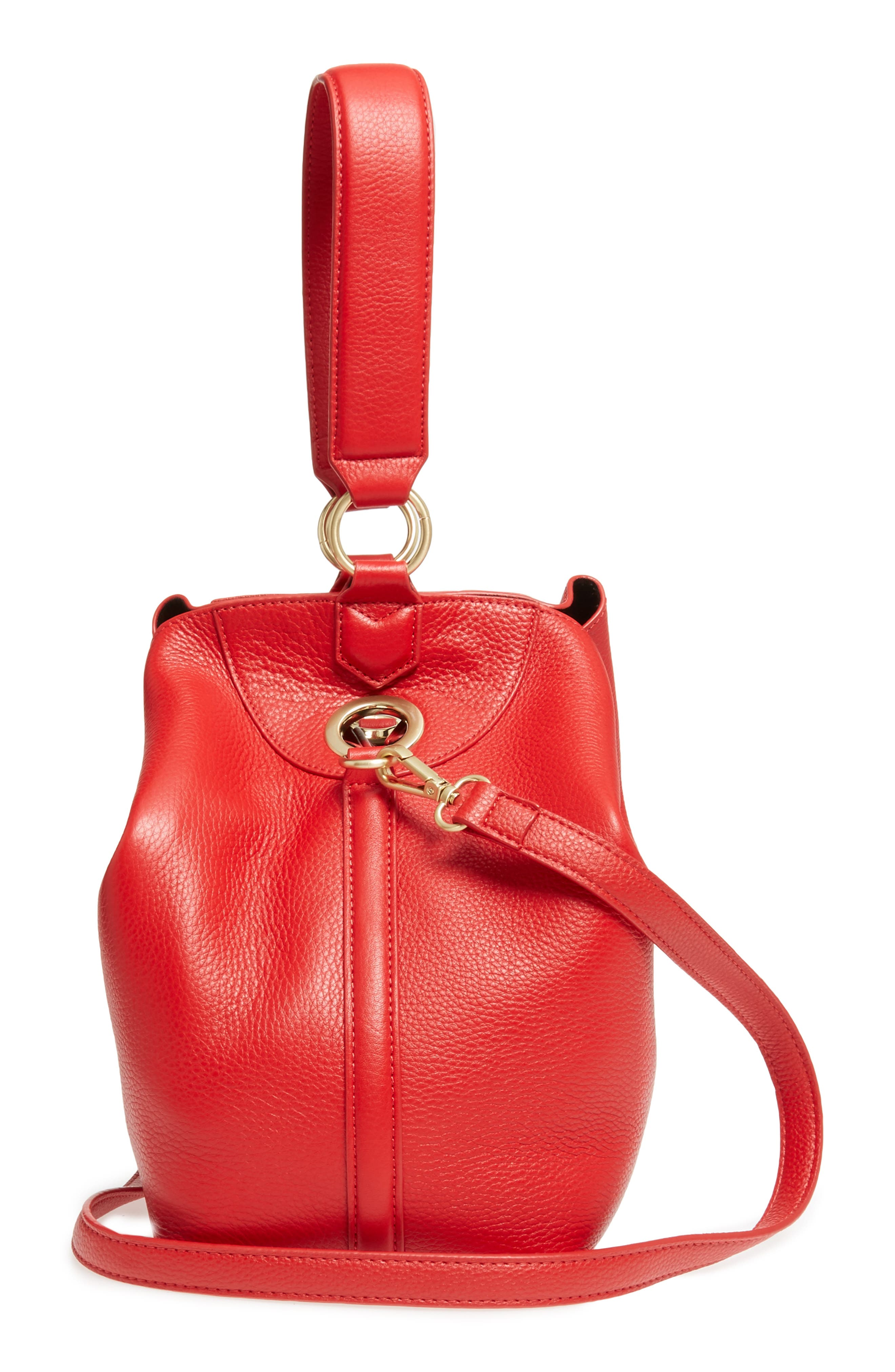 Sam Edelman Renee Leather Bucket Bag