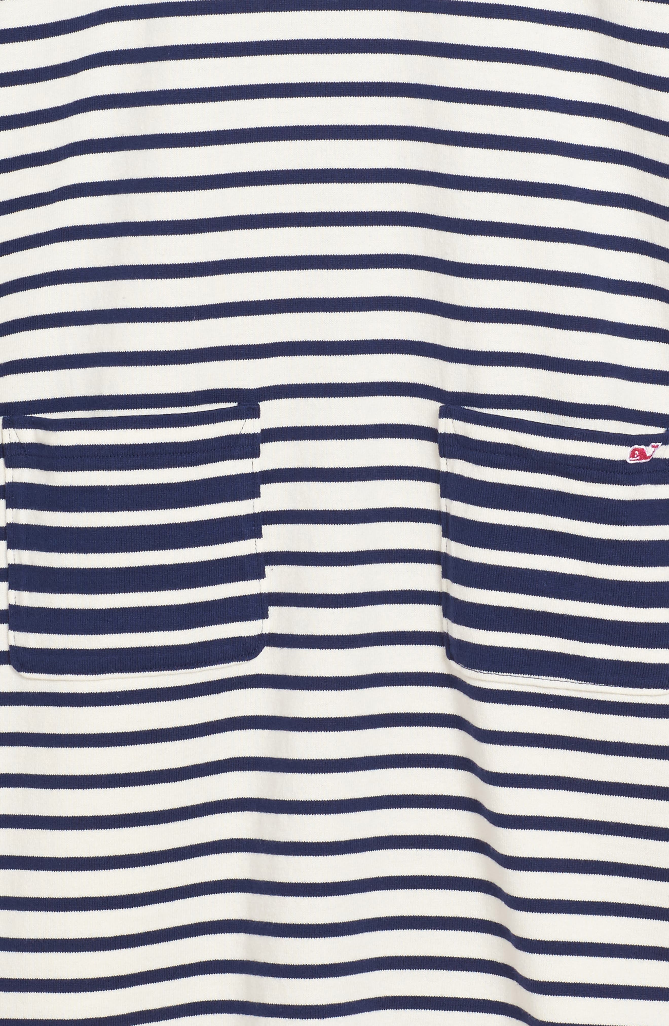 Alternate Image 3  - vineyard vines Stripe Knit Dress (Little Girls & Big Girls)