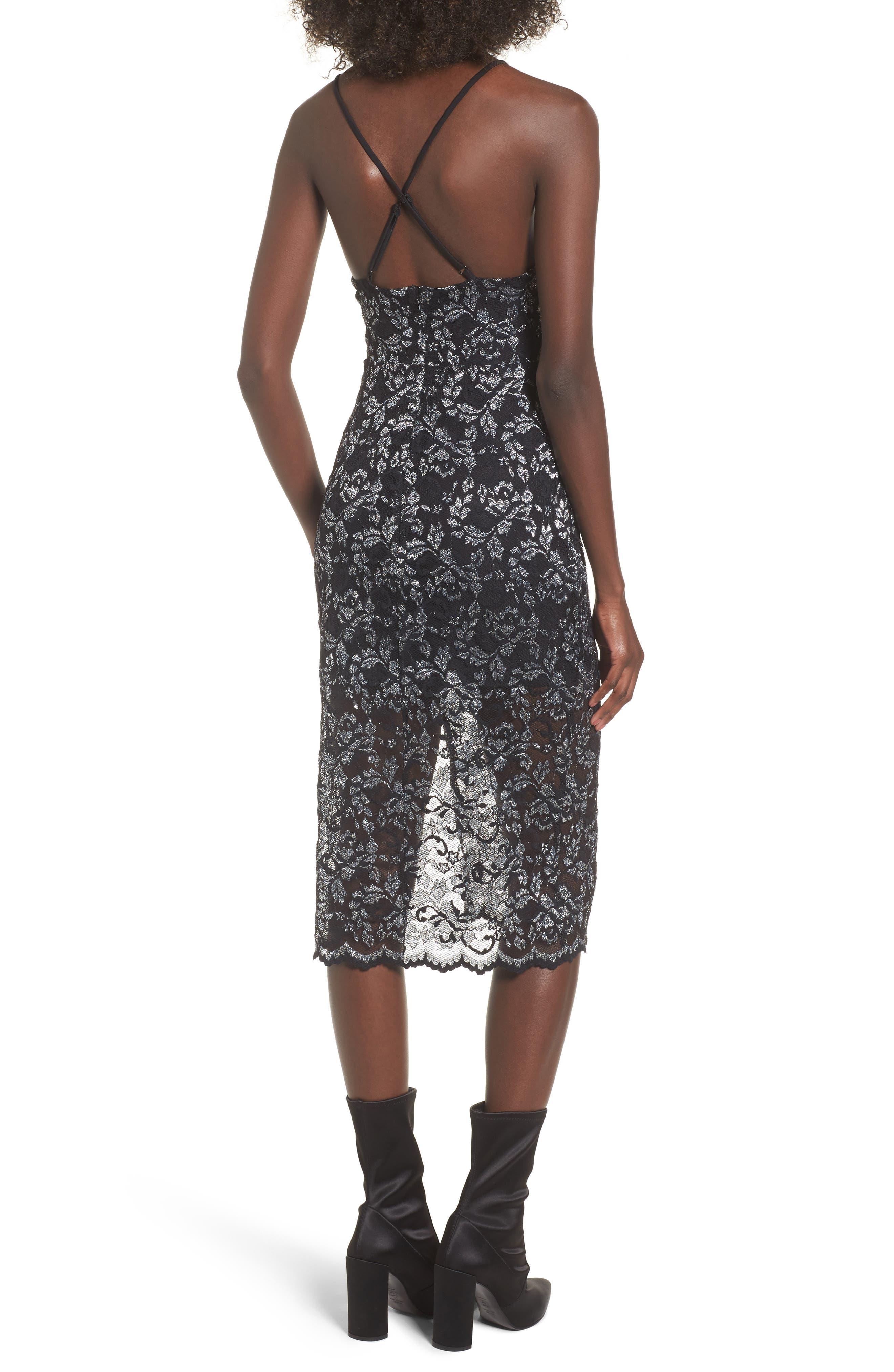 Alternate Image 2  - NBD Sitabella Lace Dress