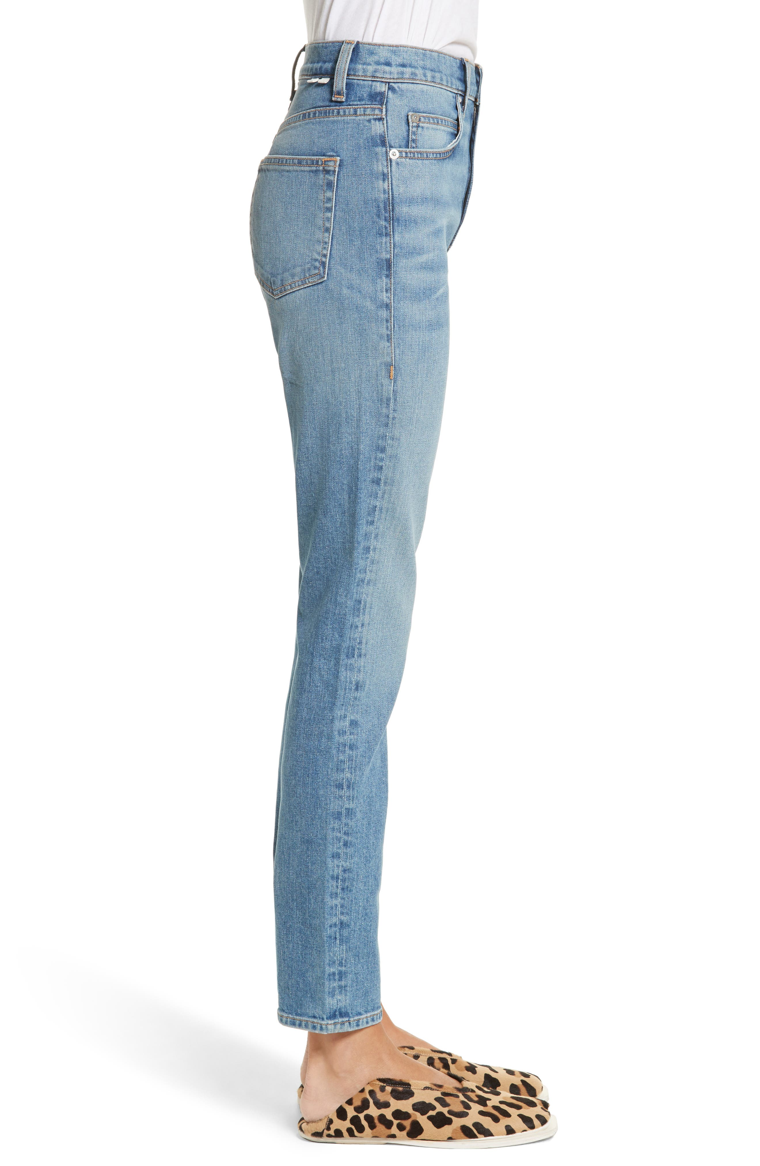 Alternate Image 3  - Proenza Schouler PSWL Straight Leg Jeans