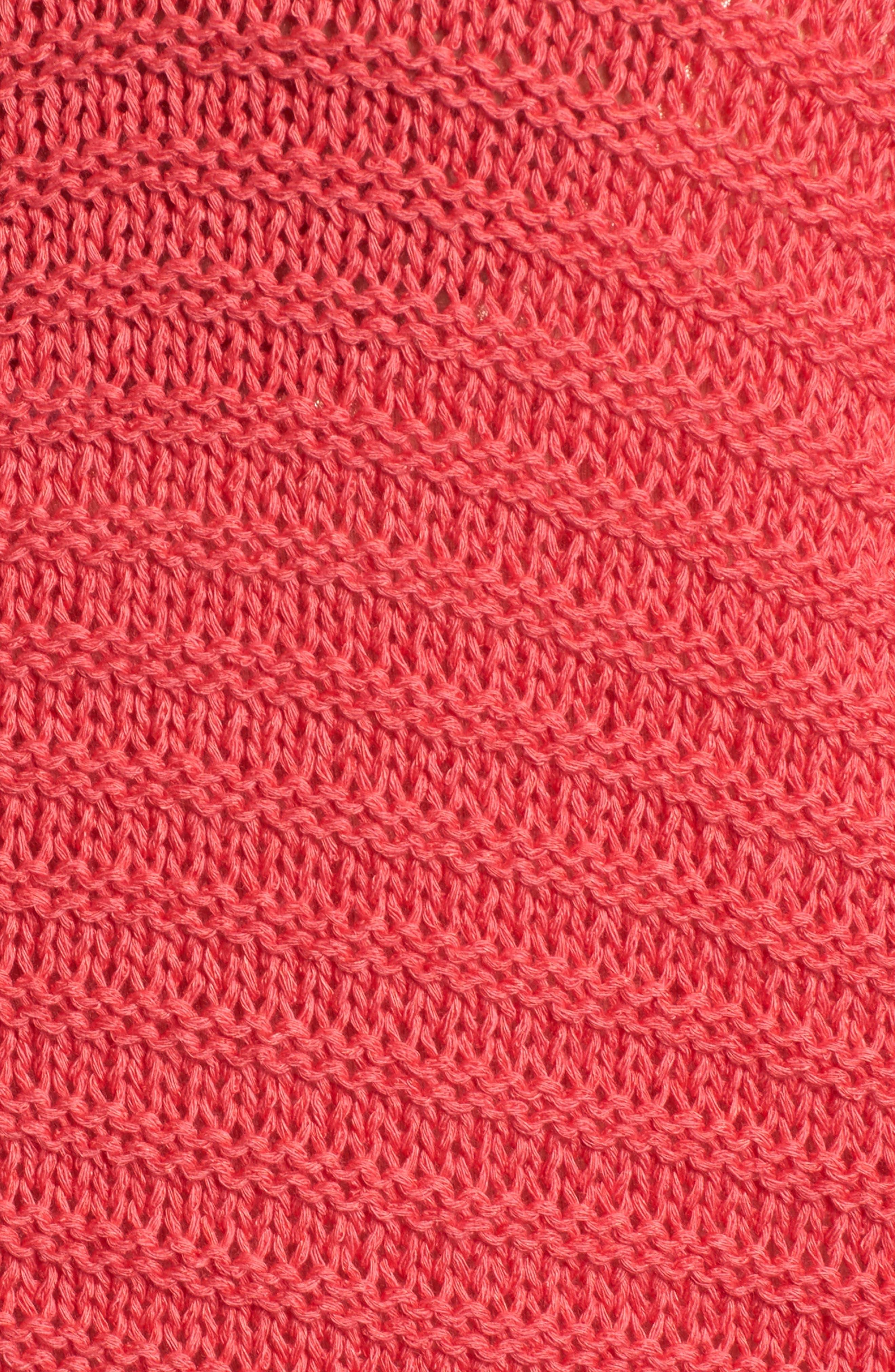 Alternate Image 5  - Caslon® Cuffed Sleeve Sweater (Regular & Petite)