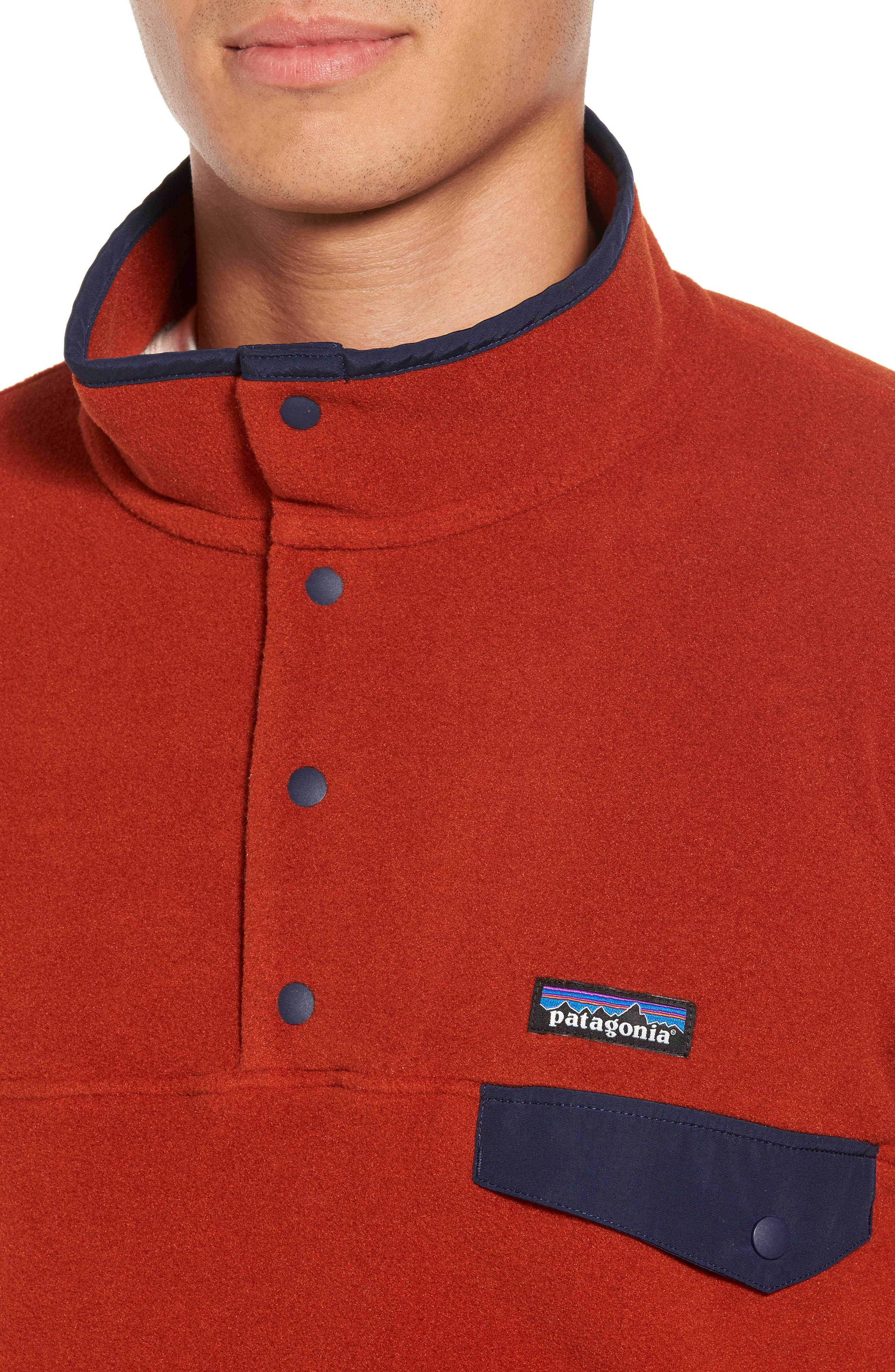 Alternate Image 4  - Patagonia Synchilla® Snap-T® Pullover