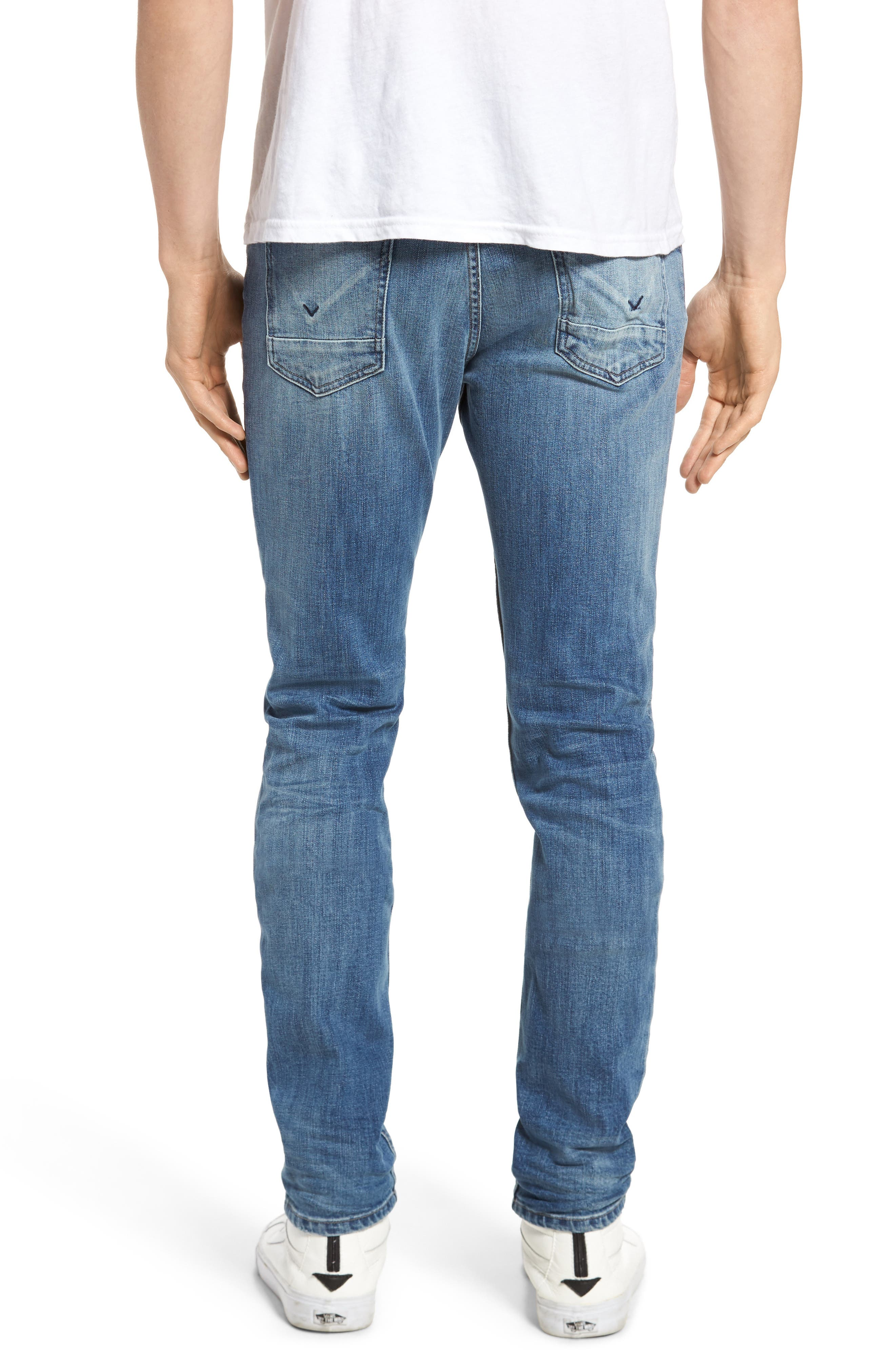 Axl Skinny Fit Jeans,                             Alternate thumbnail 2, color,                             Racking