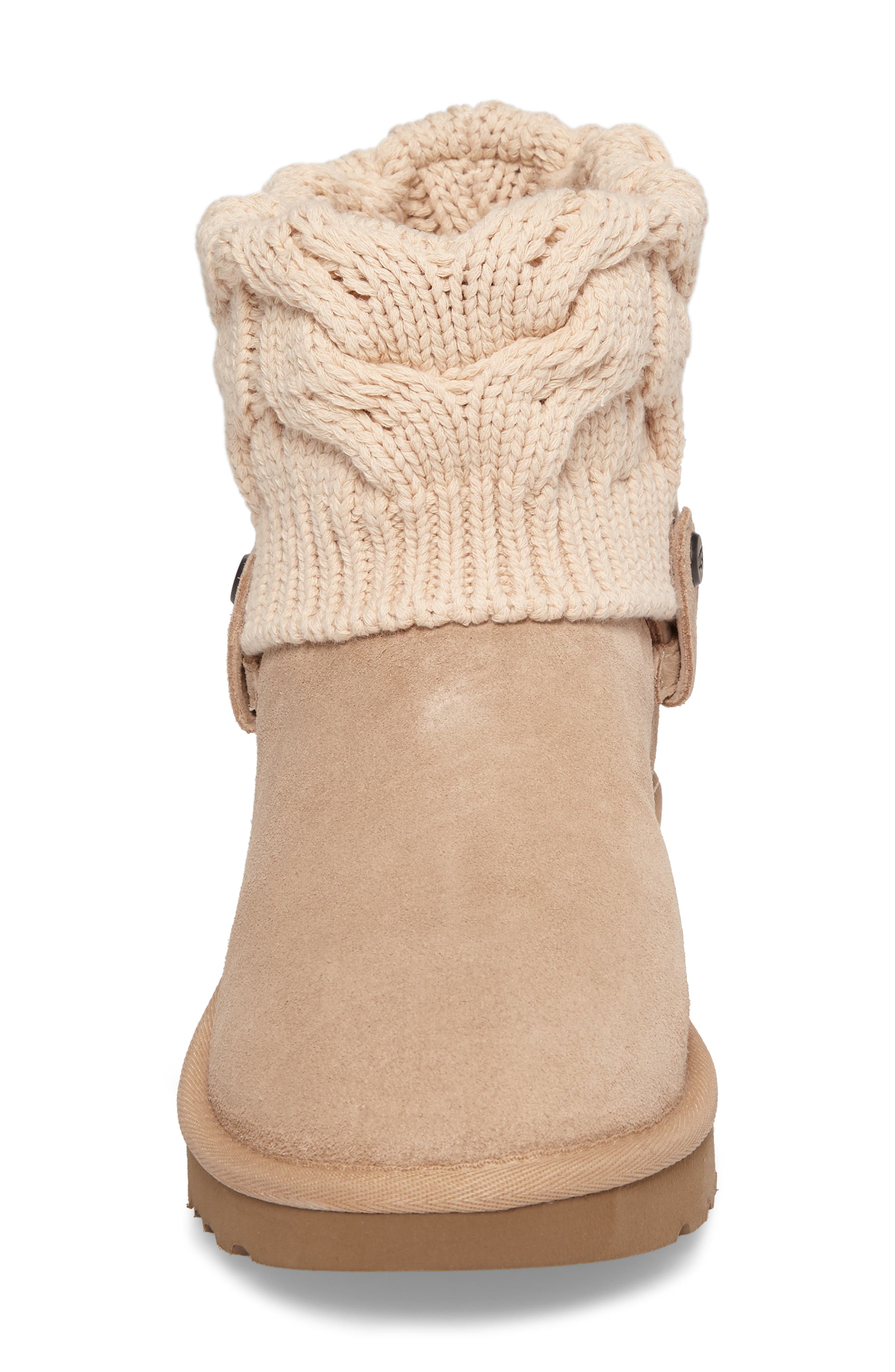 Alternate Image 4  - UGG® Saela Knit Cuff Boot (Women)