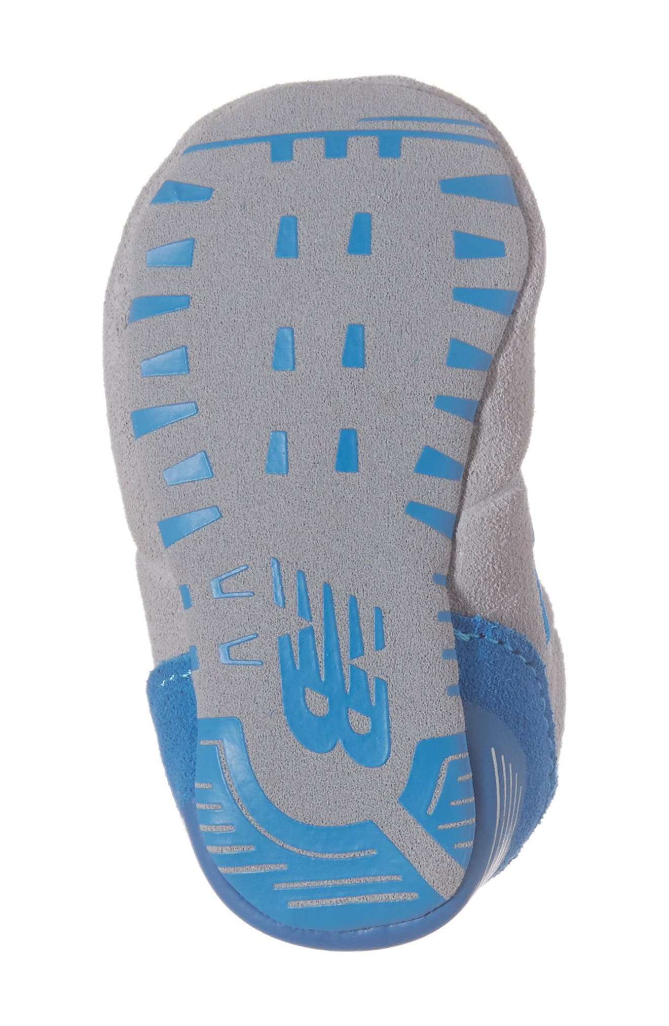 547 Crib Shoe,                             Alternate thumbnail 6, color,                             Blue/ Grey