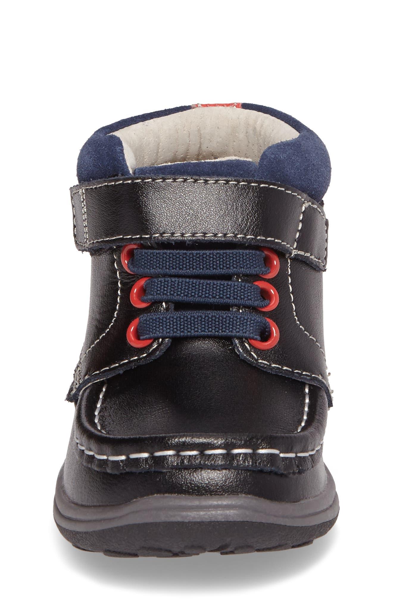 Alternate Image 4  - See Kai Run Owen High Top Sneaker Bootie (Baby, Walker & Toddler)