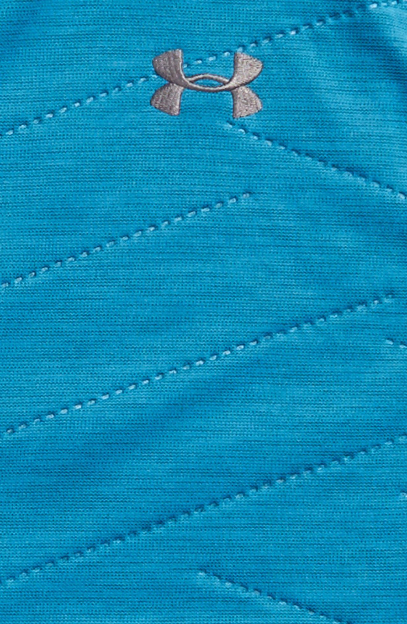 ColdGear<sup>®</sup> Reactor Hybrid Vest,                             Alternate thumbnail 2, color,                             Bayou Blue/ Rhino Gray