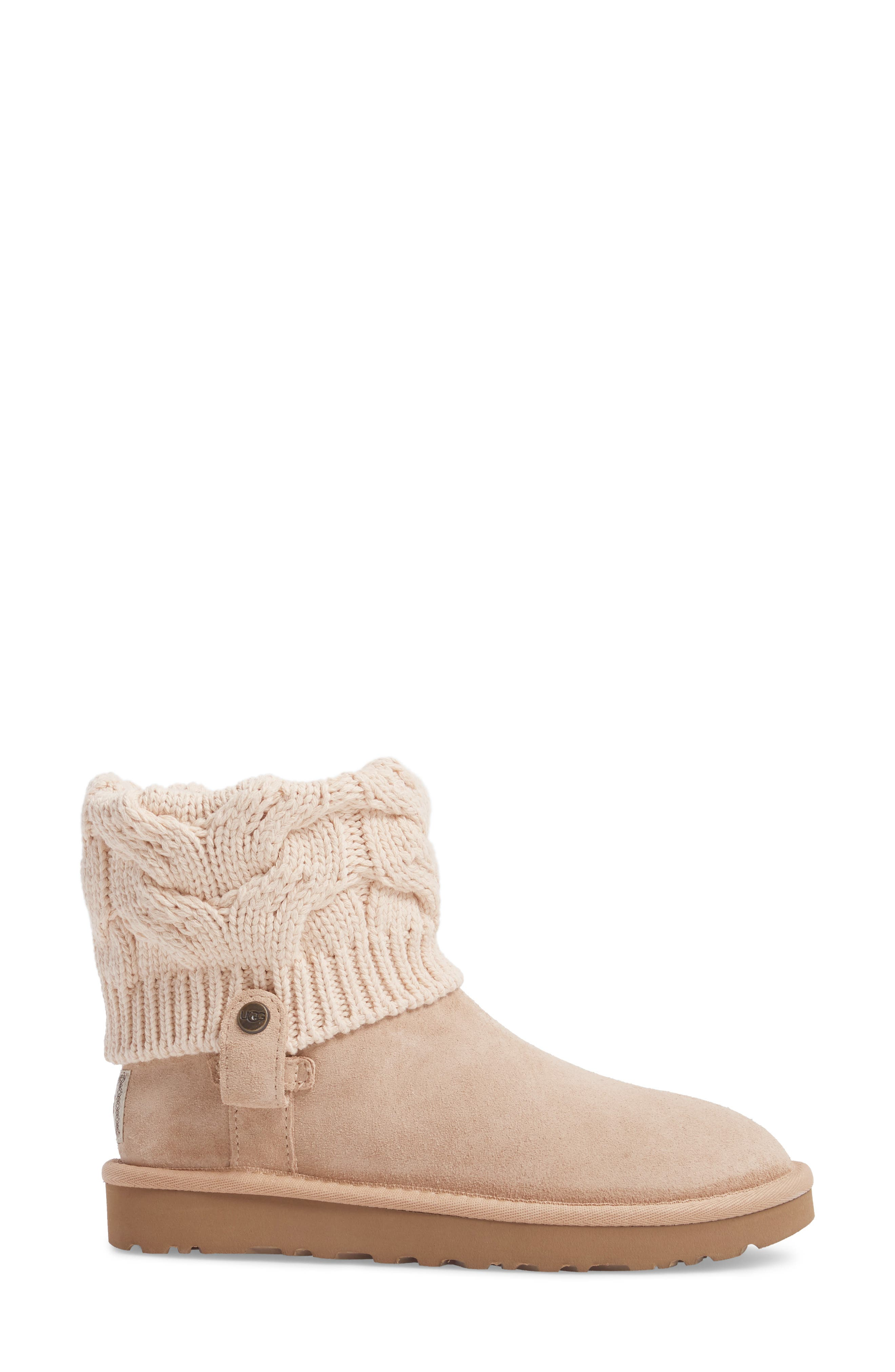 Alternate Image 3  - UGG® Saela Knit Cuff Boot (Women)