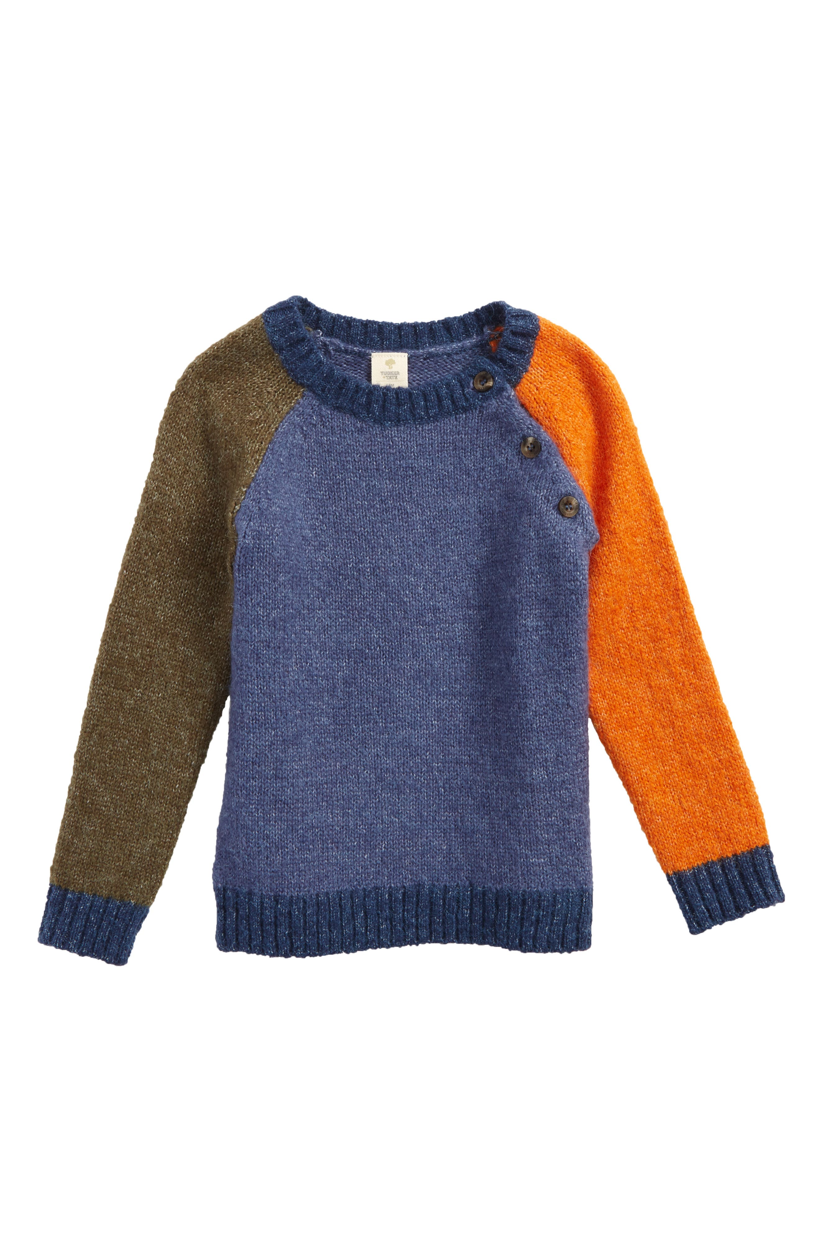 Tucker + Tate Colorblock Sweater (Baby Boys)