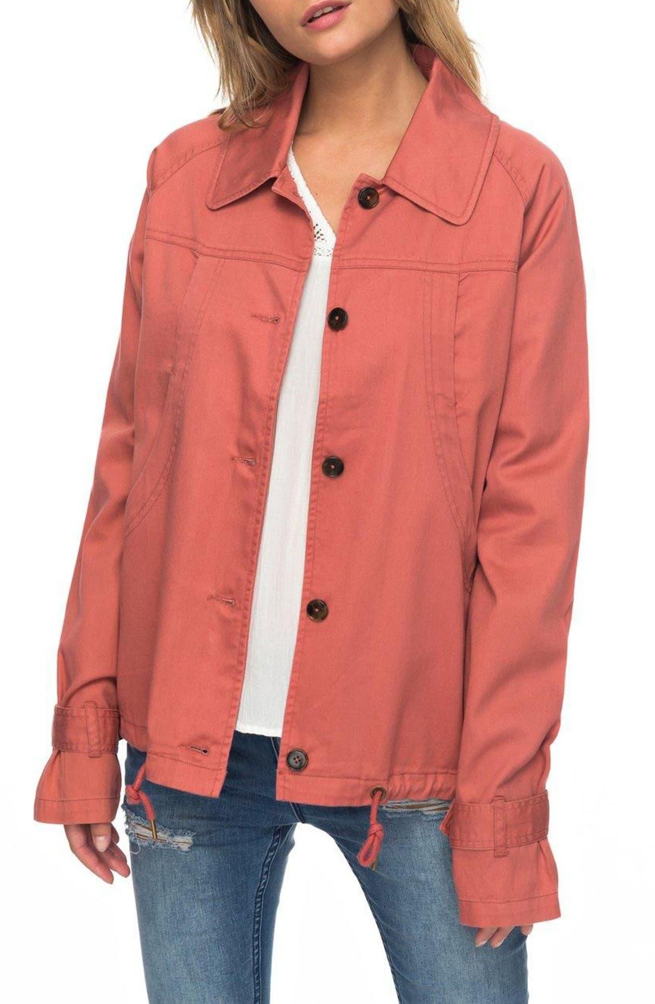 Dream Away Jacket,                             Main thumbnail 1, color,                             Dusty Cedar