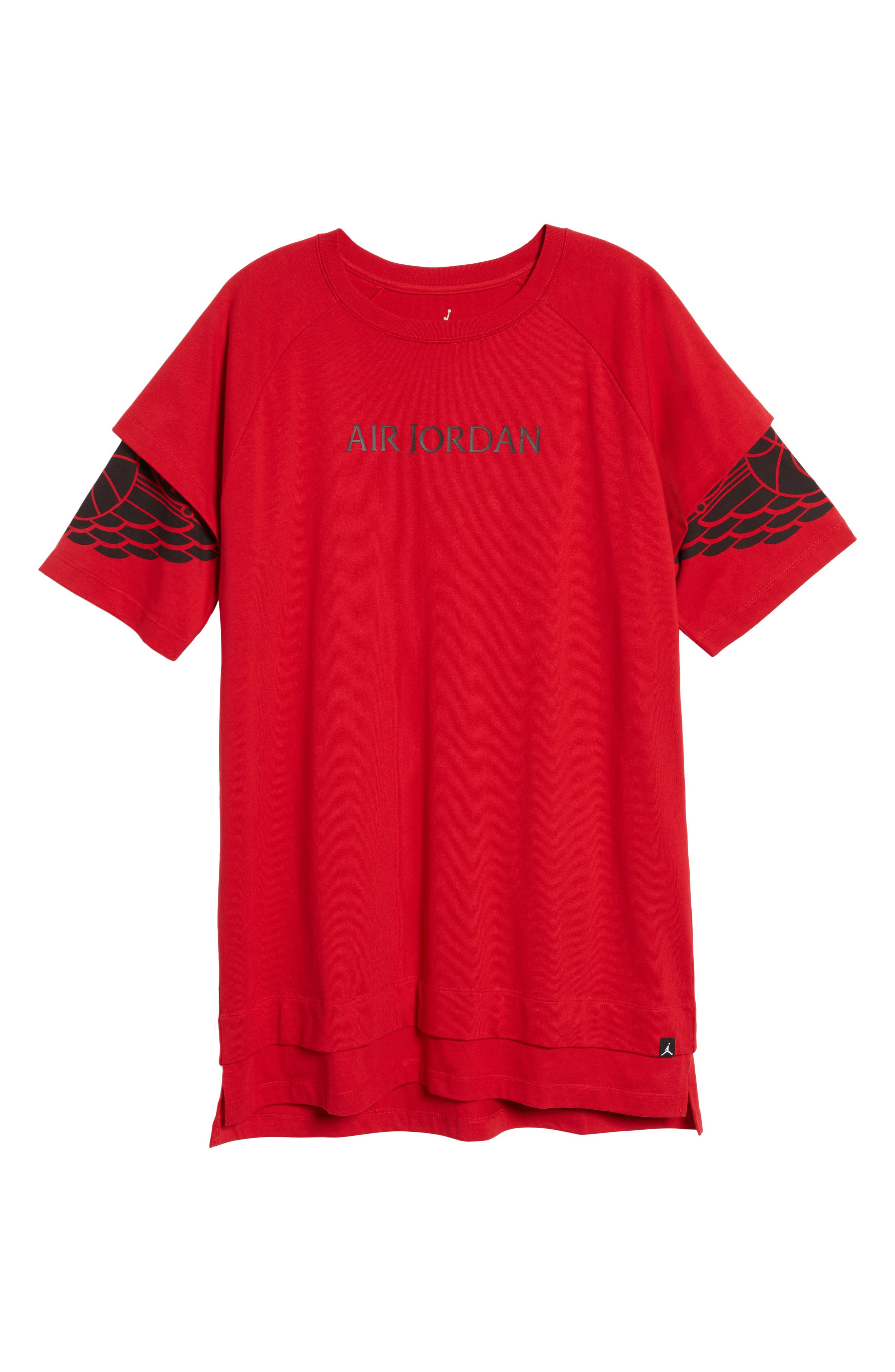 Sportswear Dry Modern Logo T-Shirt,                             Alternate thumbnail 6, color,                             Gym Red