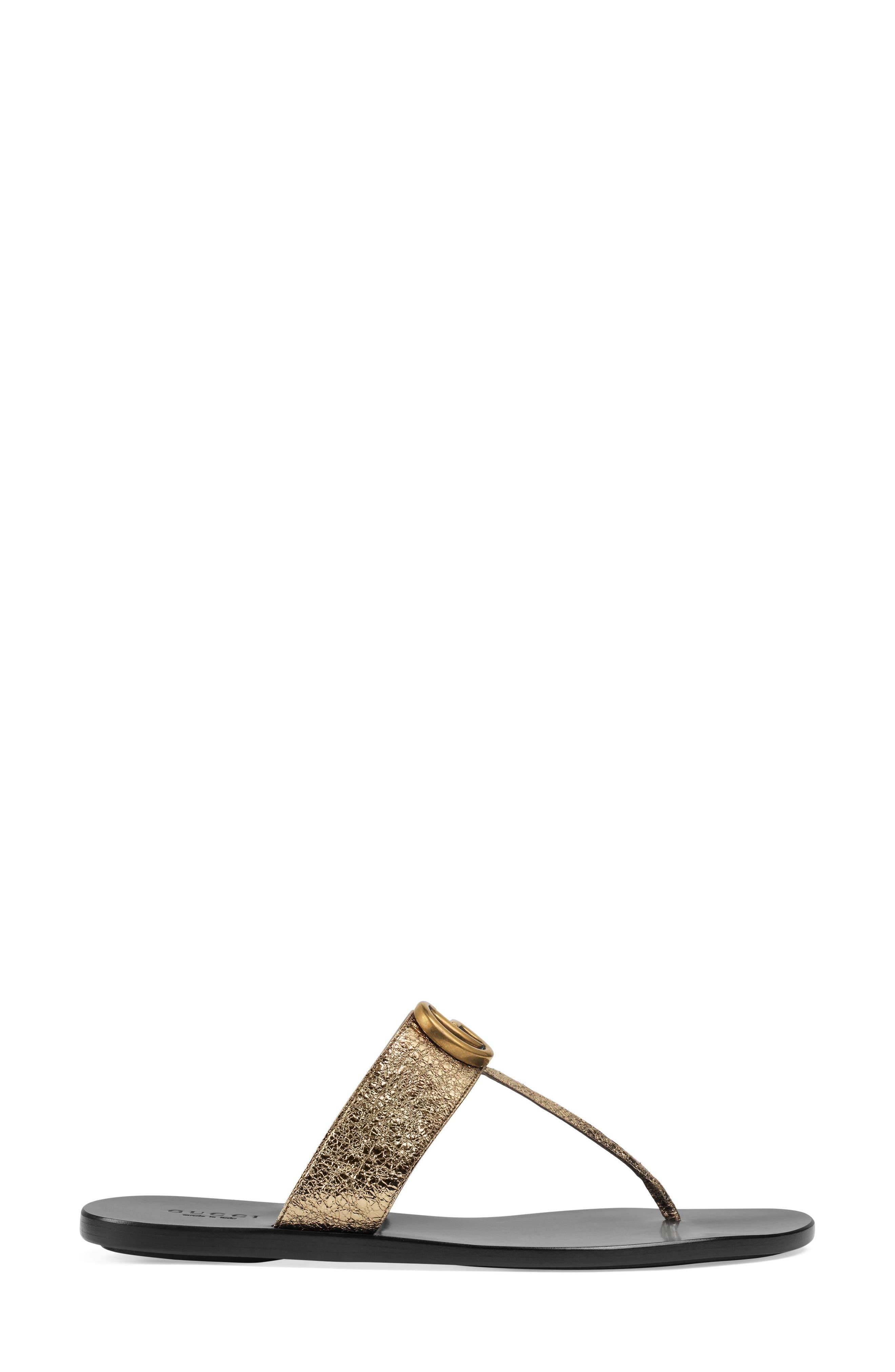 Alternate Image 2  - Gucci Marmont T-Strap Sandal (Women)