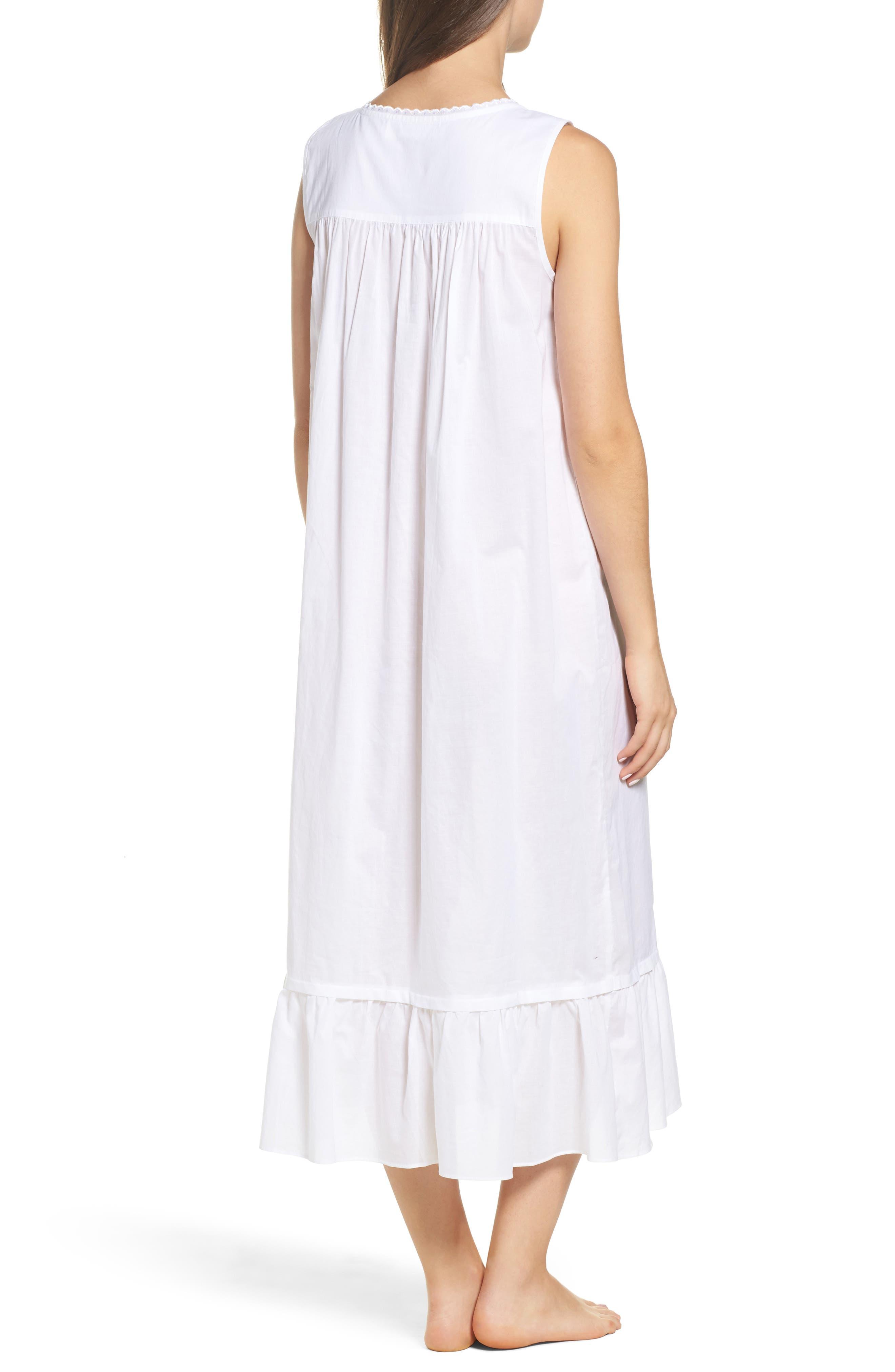 Ballet Nightgown,                             Alternate thumbnail 2, color,                             White