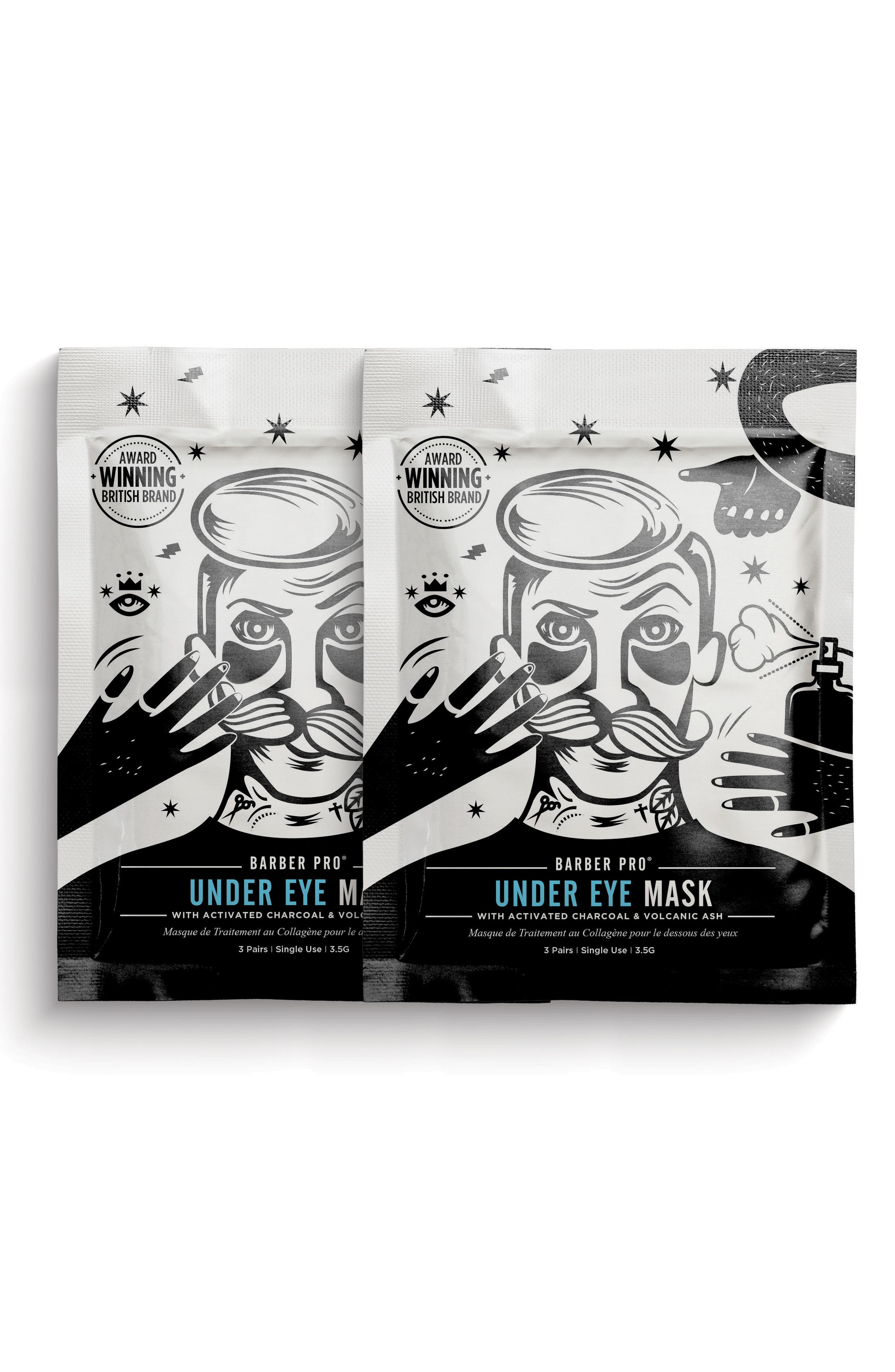 Undereye Mask Duo,                             Main thumbnail 1, color,                             No Color