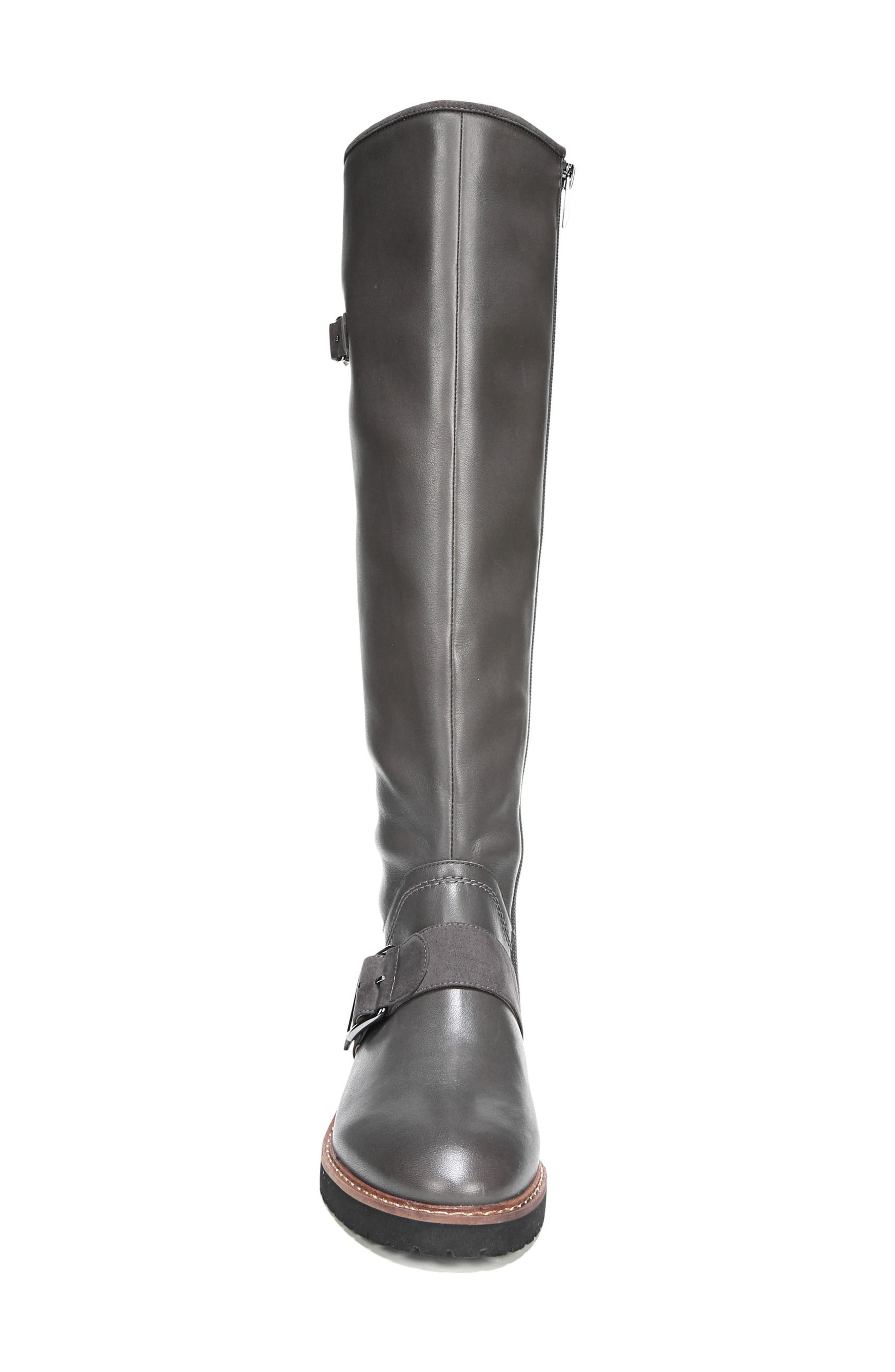 Cutler Riding Boot,                             Alternate thumbnail 4, color,                             Peat Leather
