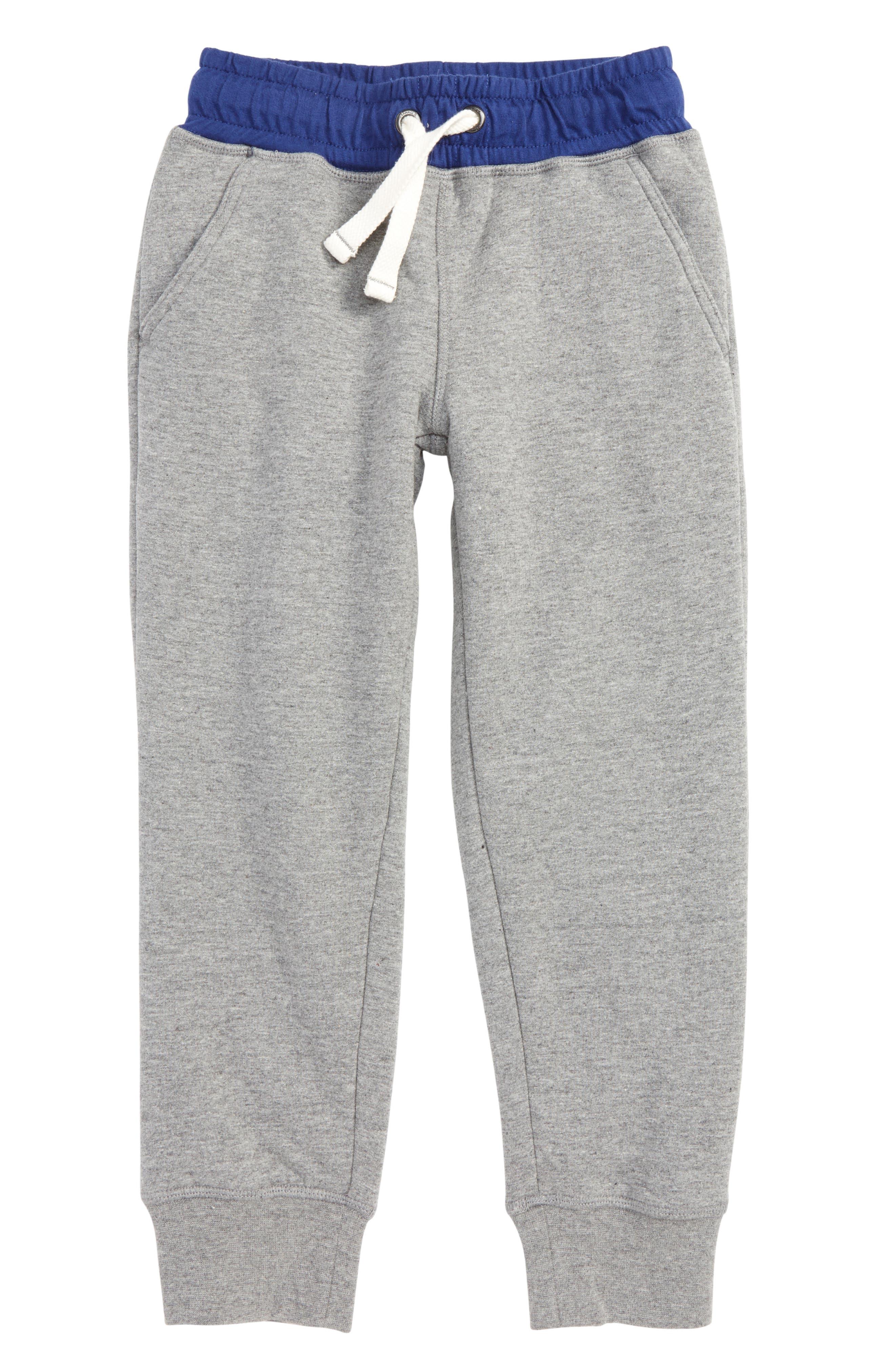 Main Image - Mini Boden Shaggy Jogger Pants (Little Boys & Big Boys)