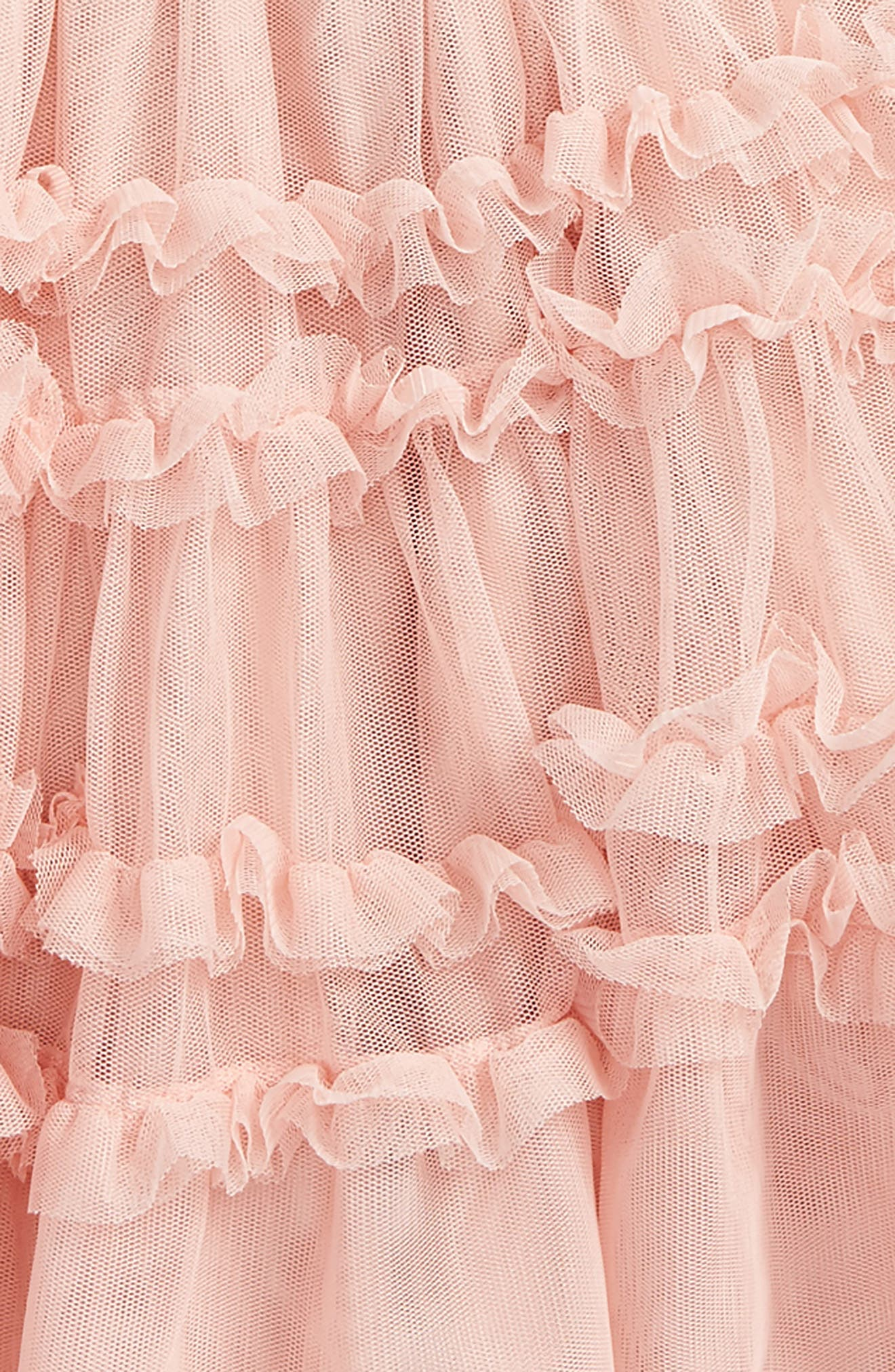 Ruffle Tulle Skirt,                             Alternate thumbnail 2, color,                             Provence Dusty Pink Pnk