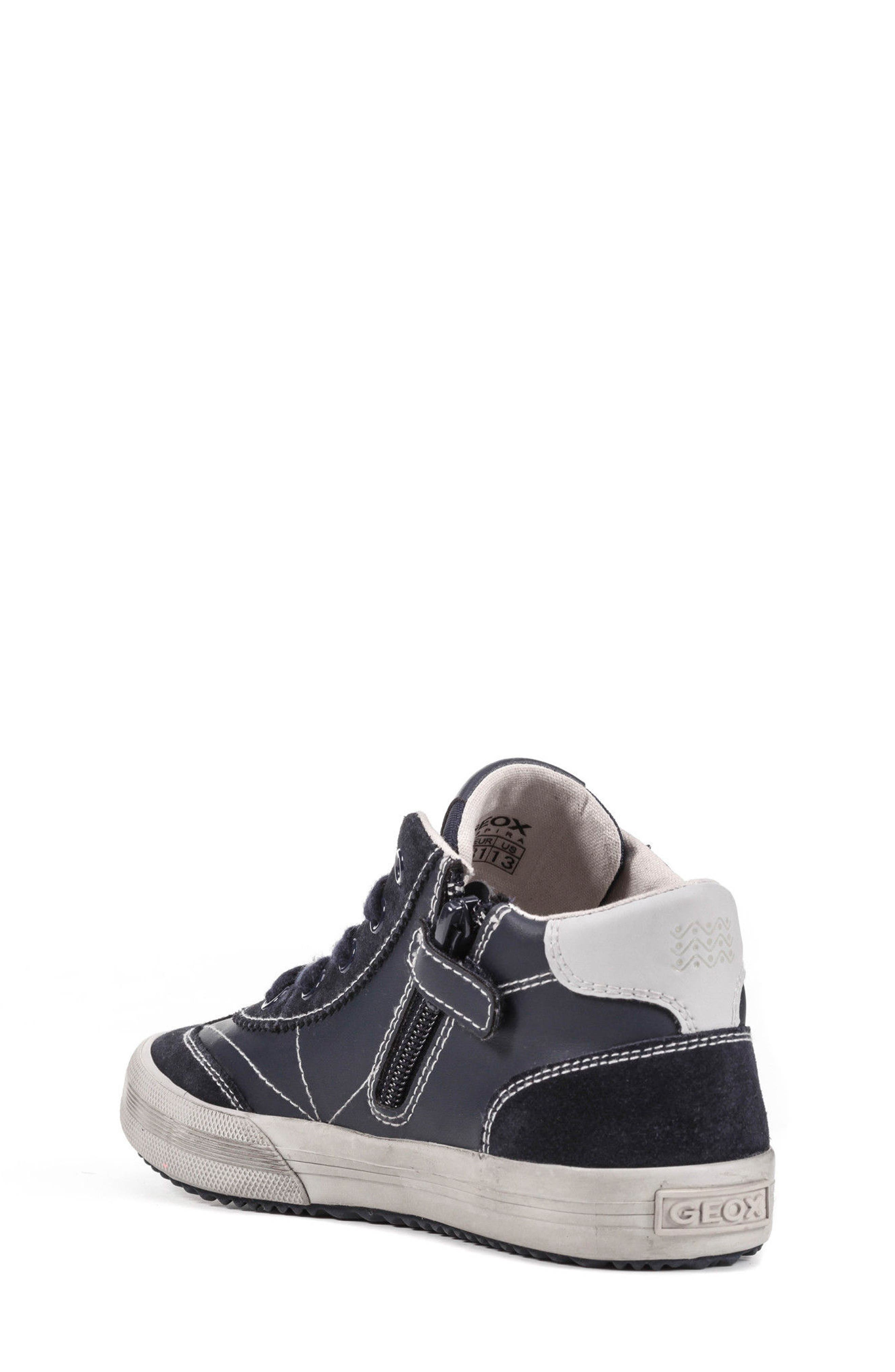 Alternate Image 2  - Geox Alonisso Mid Top Sneaker (Toddler, Little Kid & Big Kid)