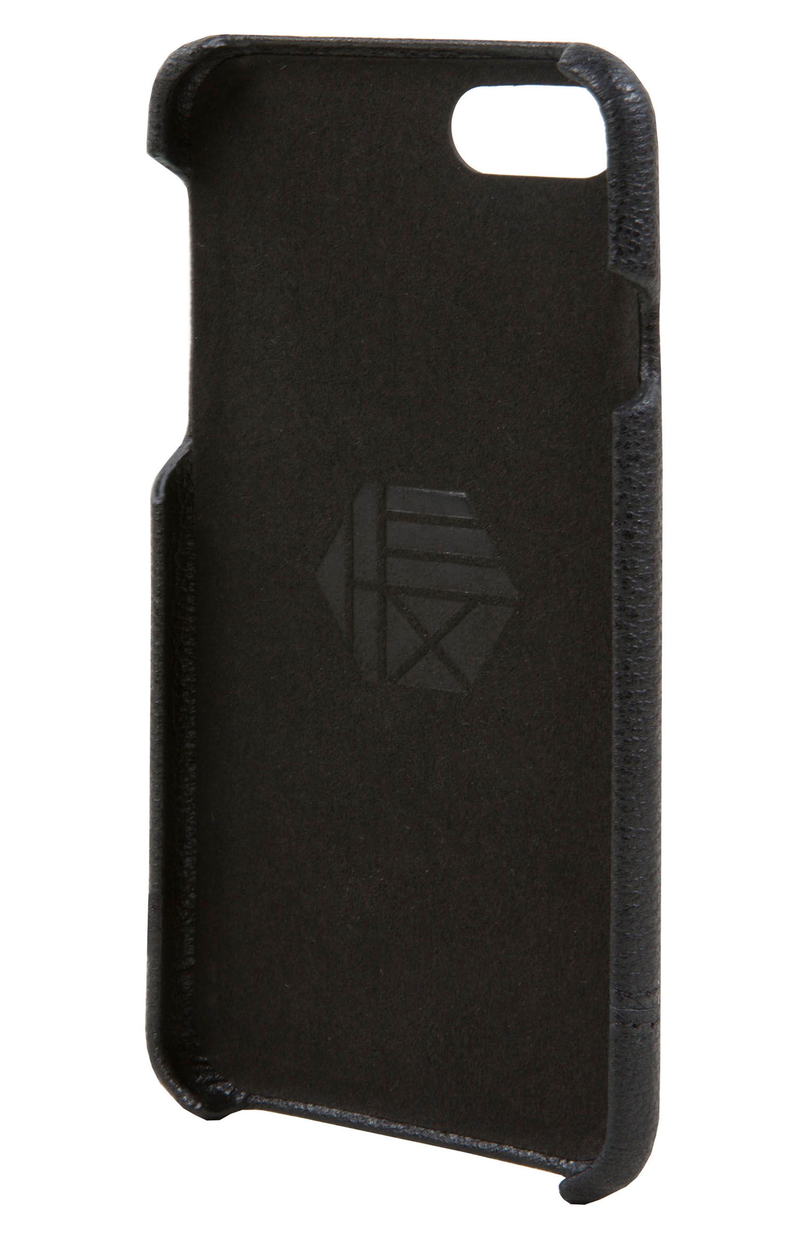Alternate Image 2  - HEX Focus Leather iPhone 6/6s/7/8 Case